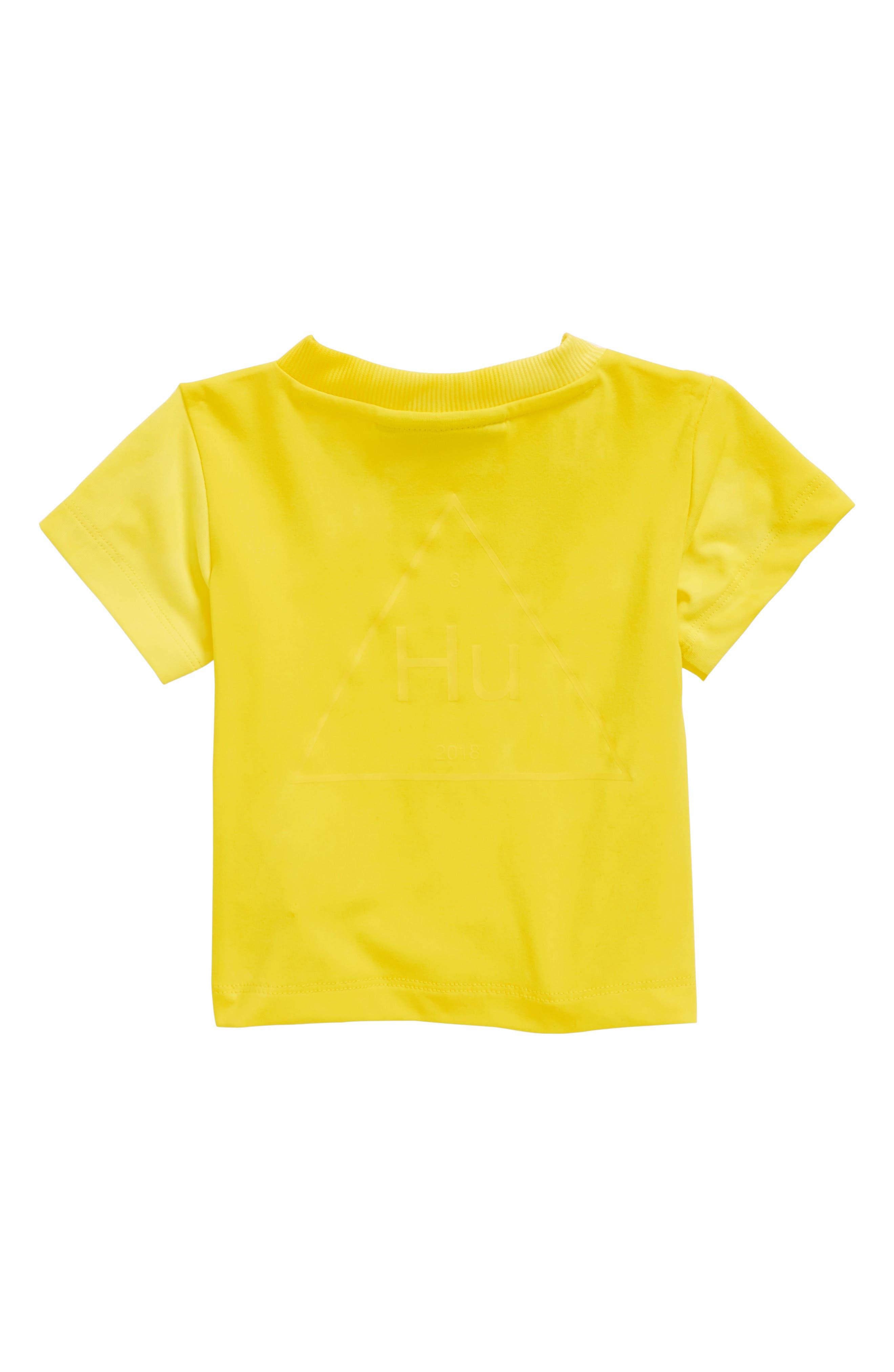 Hu Holi Tee,                             Alternate thumbnail 2, color,                             Yellow / White