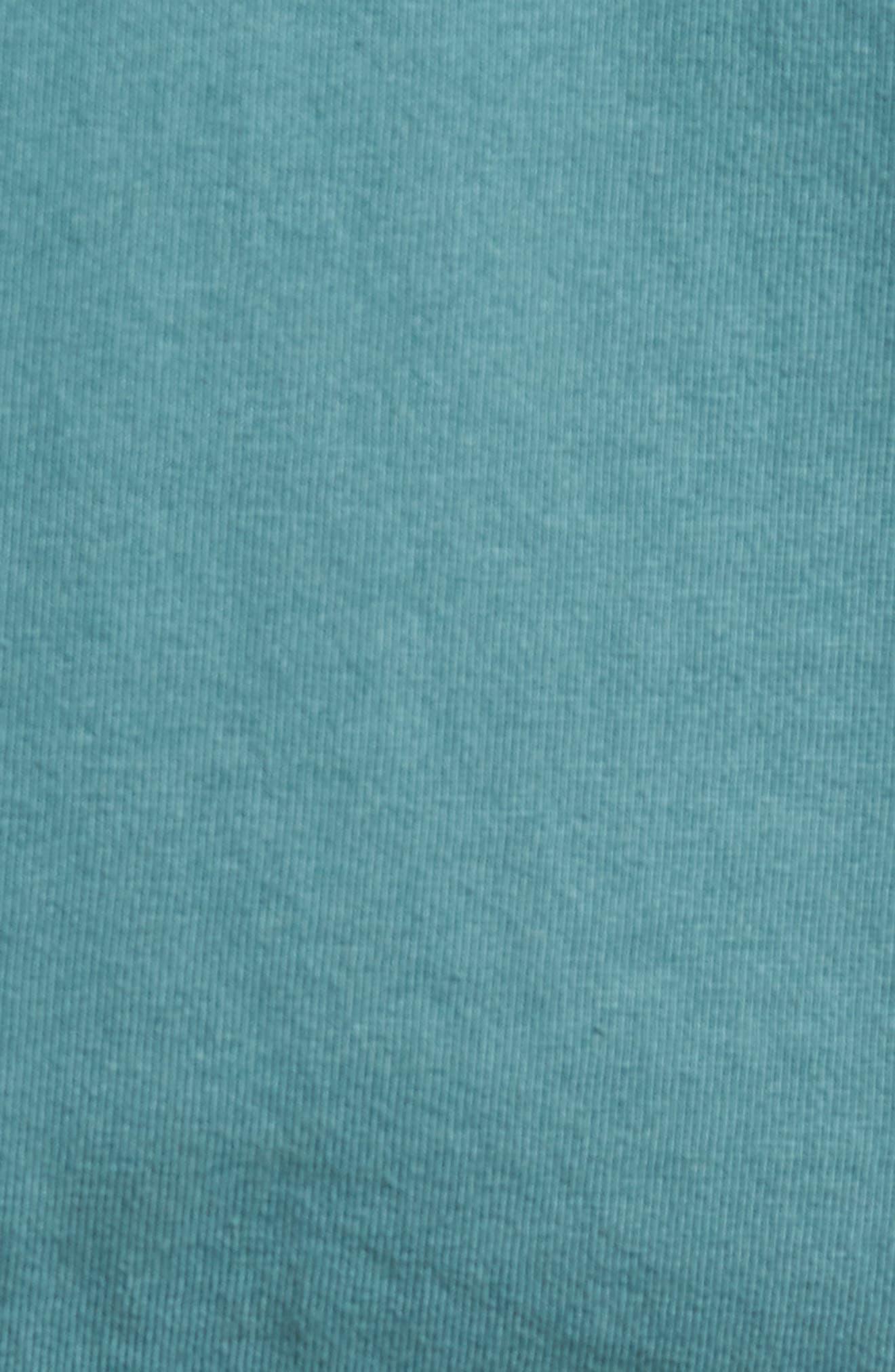 Pocket T-Shirt,                             Alternate thumbnail 5, color,                             Aqua