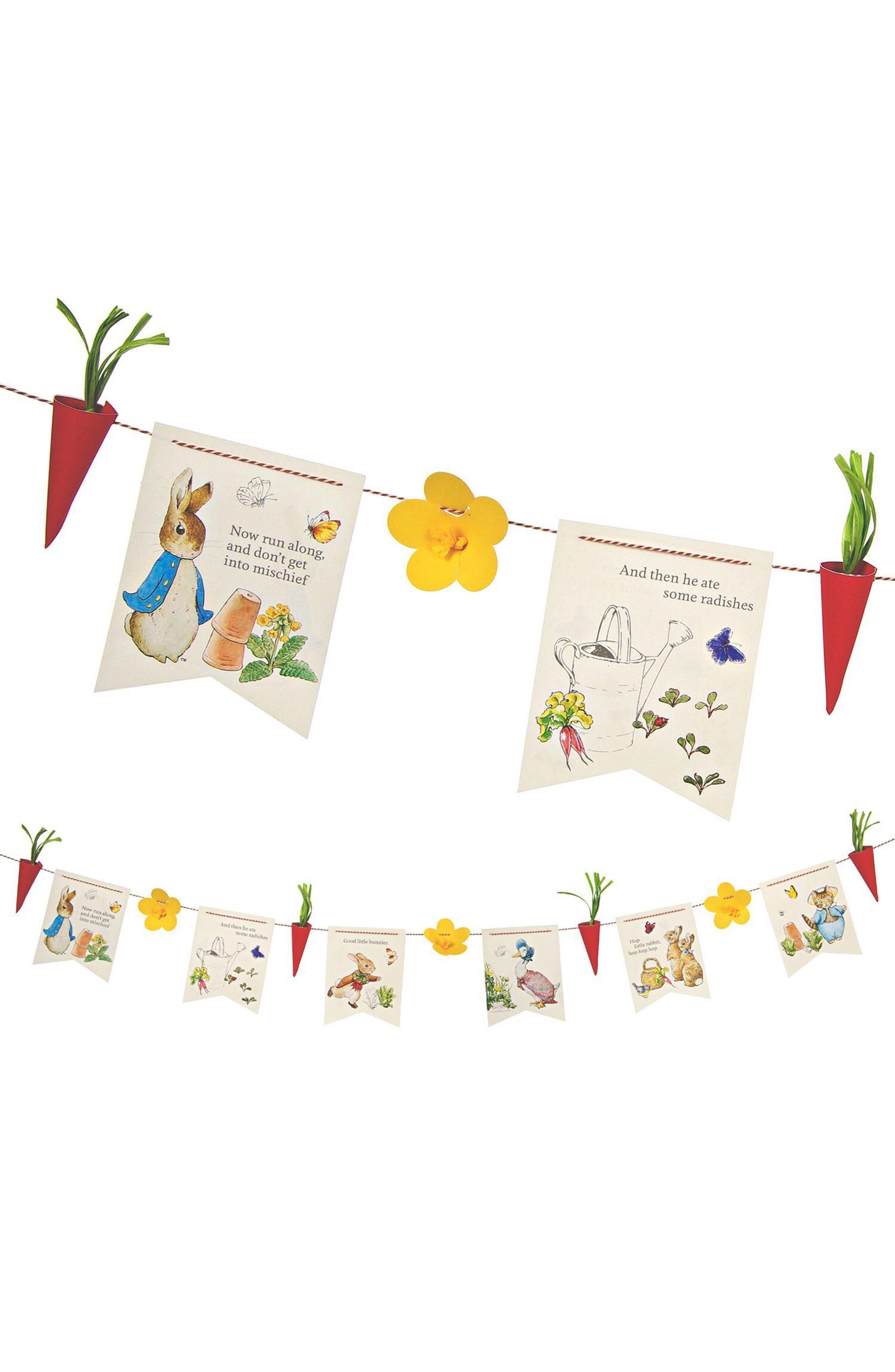 Peter Rabbit Party Bundle,                             Alternate thumbnail 6, color,                             Ivory Multi