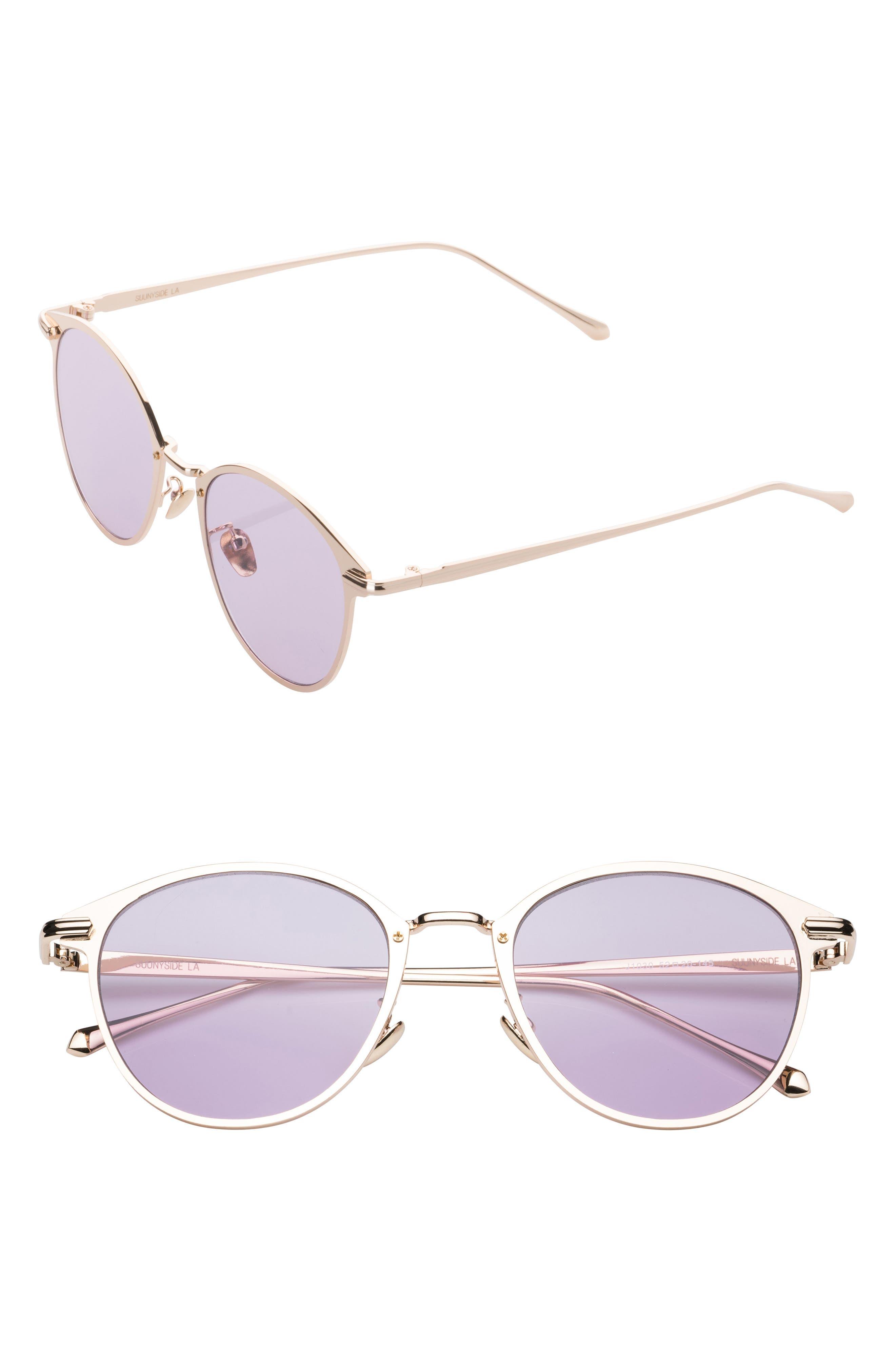 51mm Oxford Sunglasses,                             Main thumbnail 1, color,                             Pink