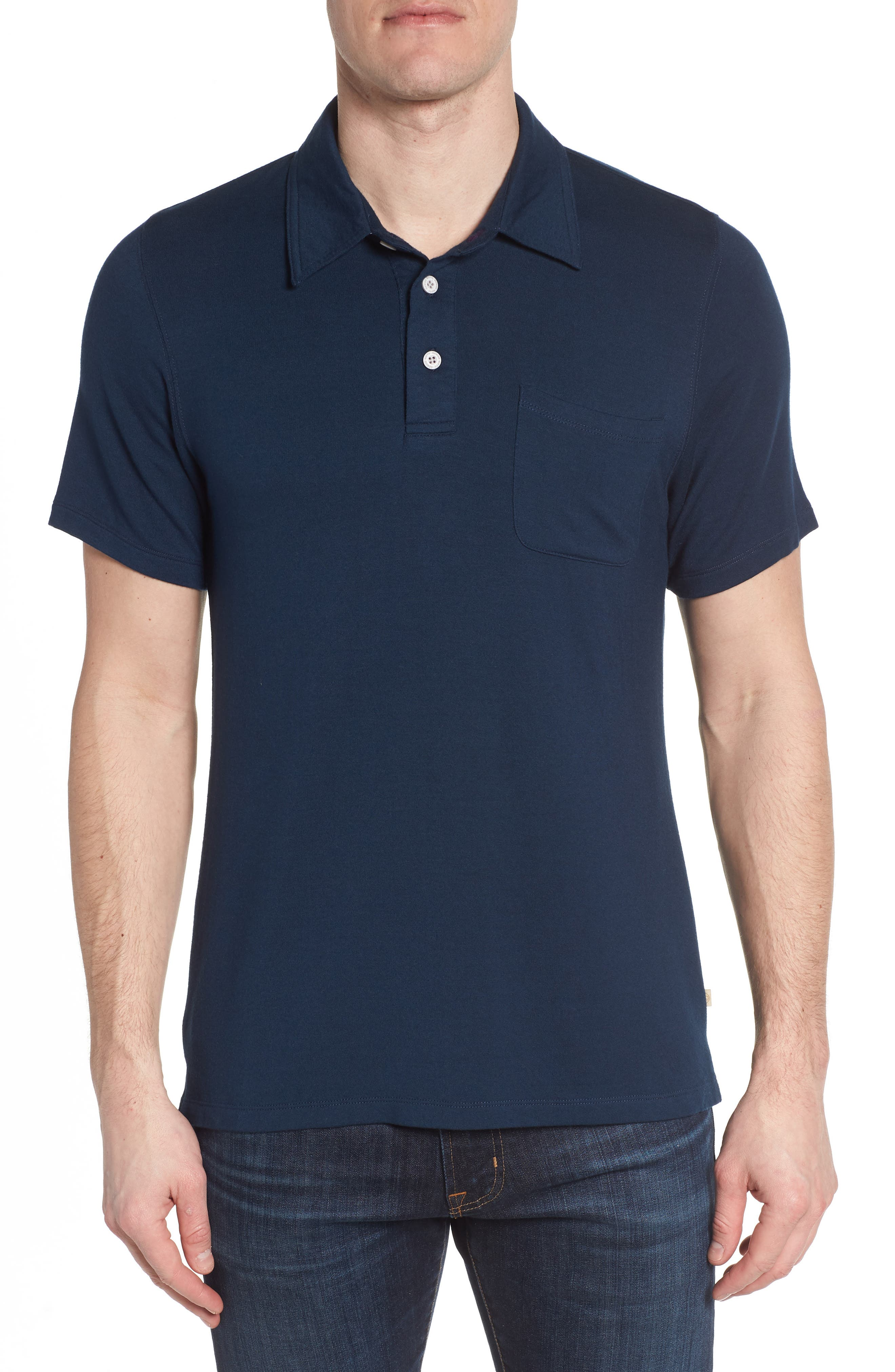 Nifty Genius Nicholas Slim Fit Pocket Polo