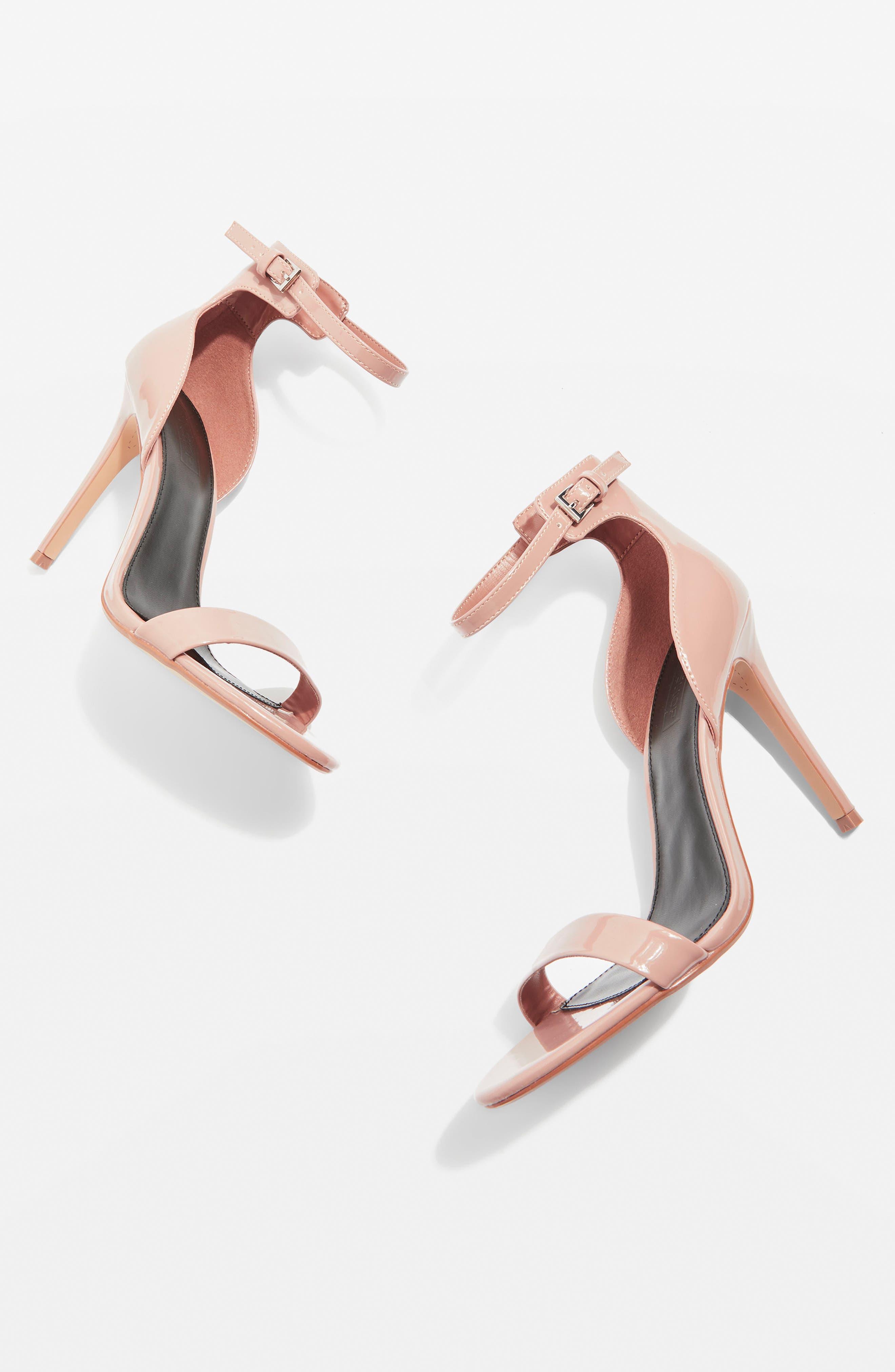 Topshop Marcelle Ankle Strap Sandal (Women)