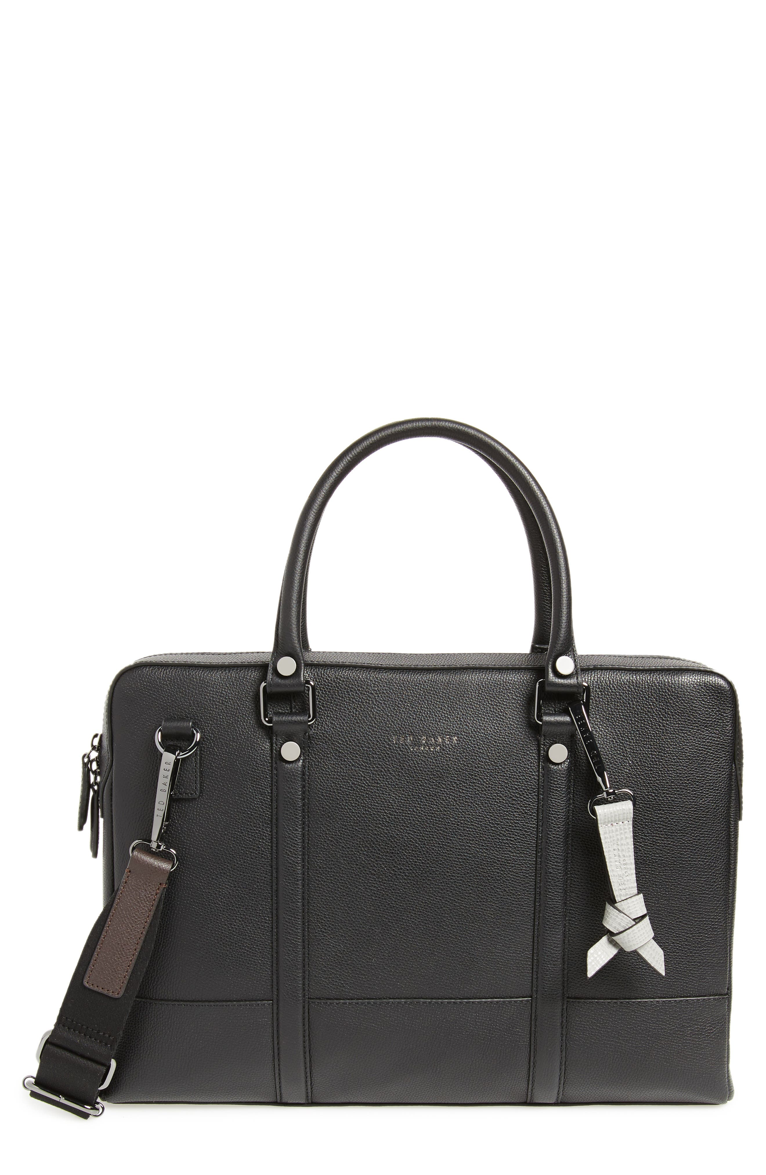 Main Image - Ted Baker London AWOL Leather Document Bag
