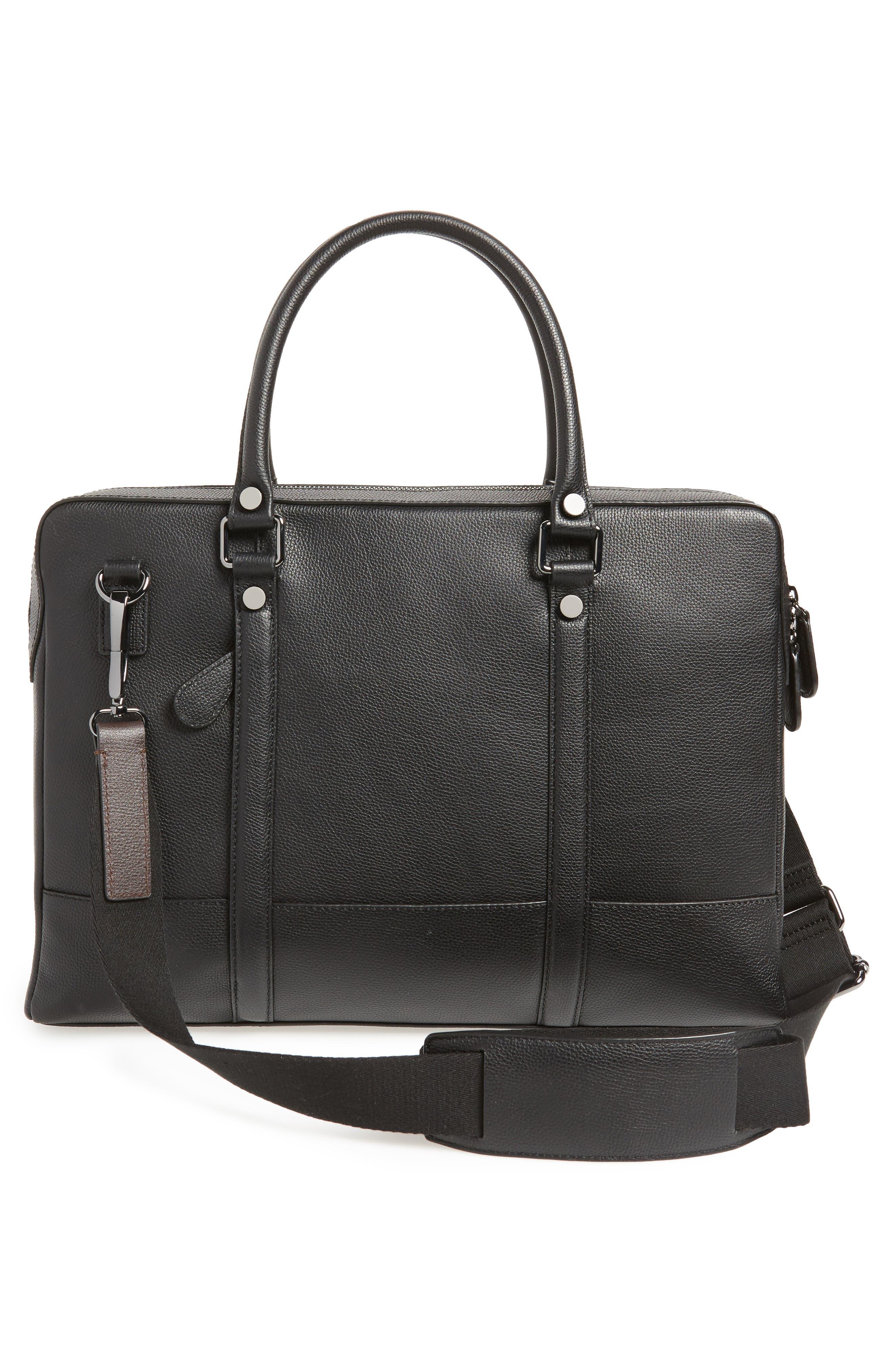 Alternate Image 3  - Ted Baker London AWOL Leather Document Bag