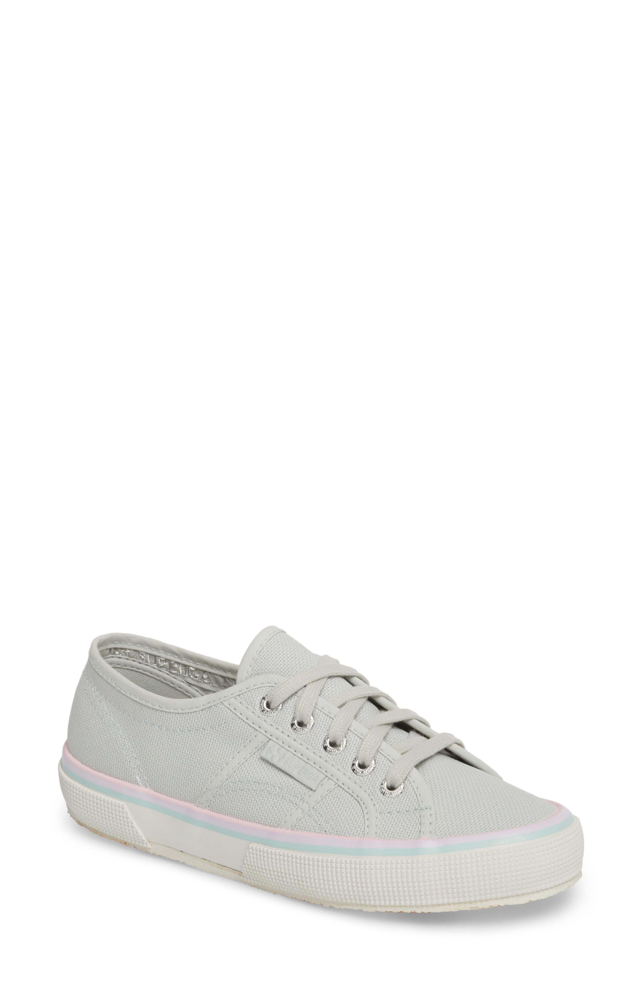 2750 Three-Stripe Sneaker,                         Main,                         color, Aluminum
