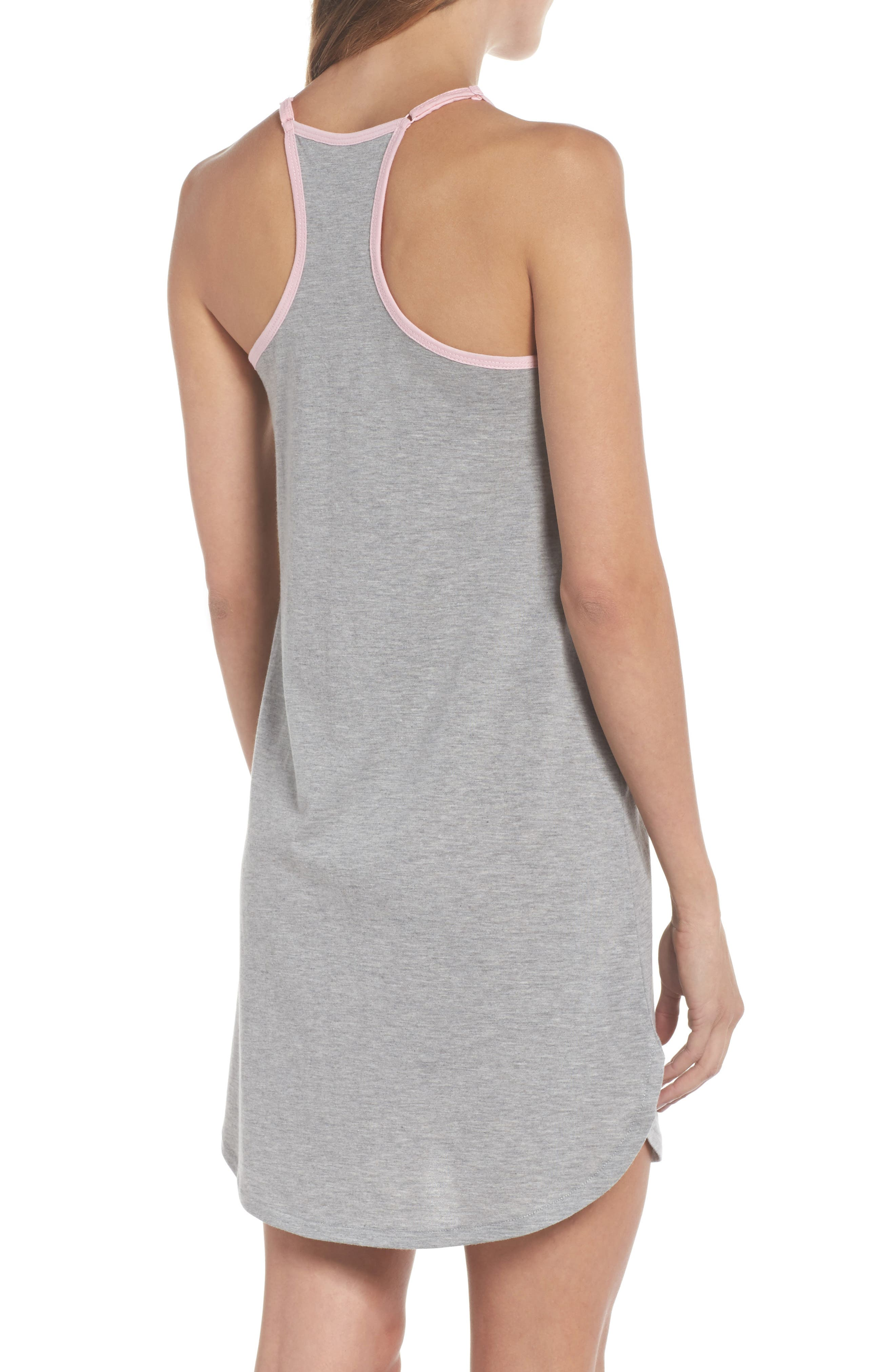Jersey Chemise,                             Alternate thumbnail 2, color,                             H Grey