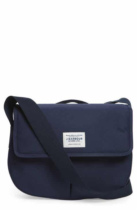Barbour Tarras Canvas Messenger Bag