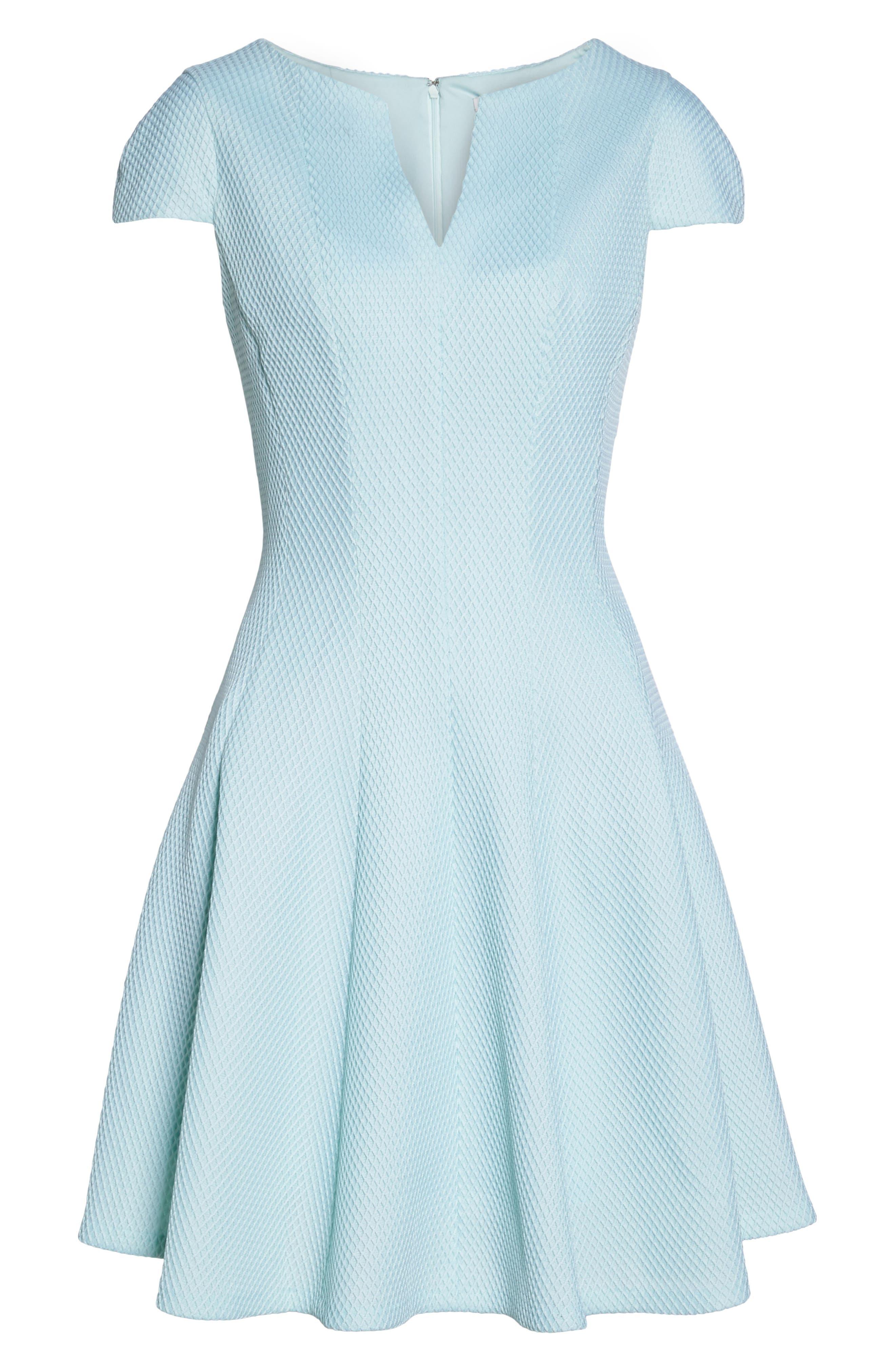 Alternate Image 6  - Julia Jordan Fit & Flare Dress