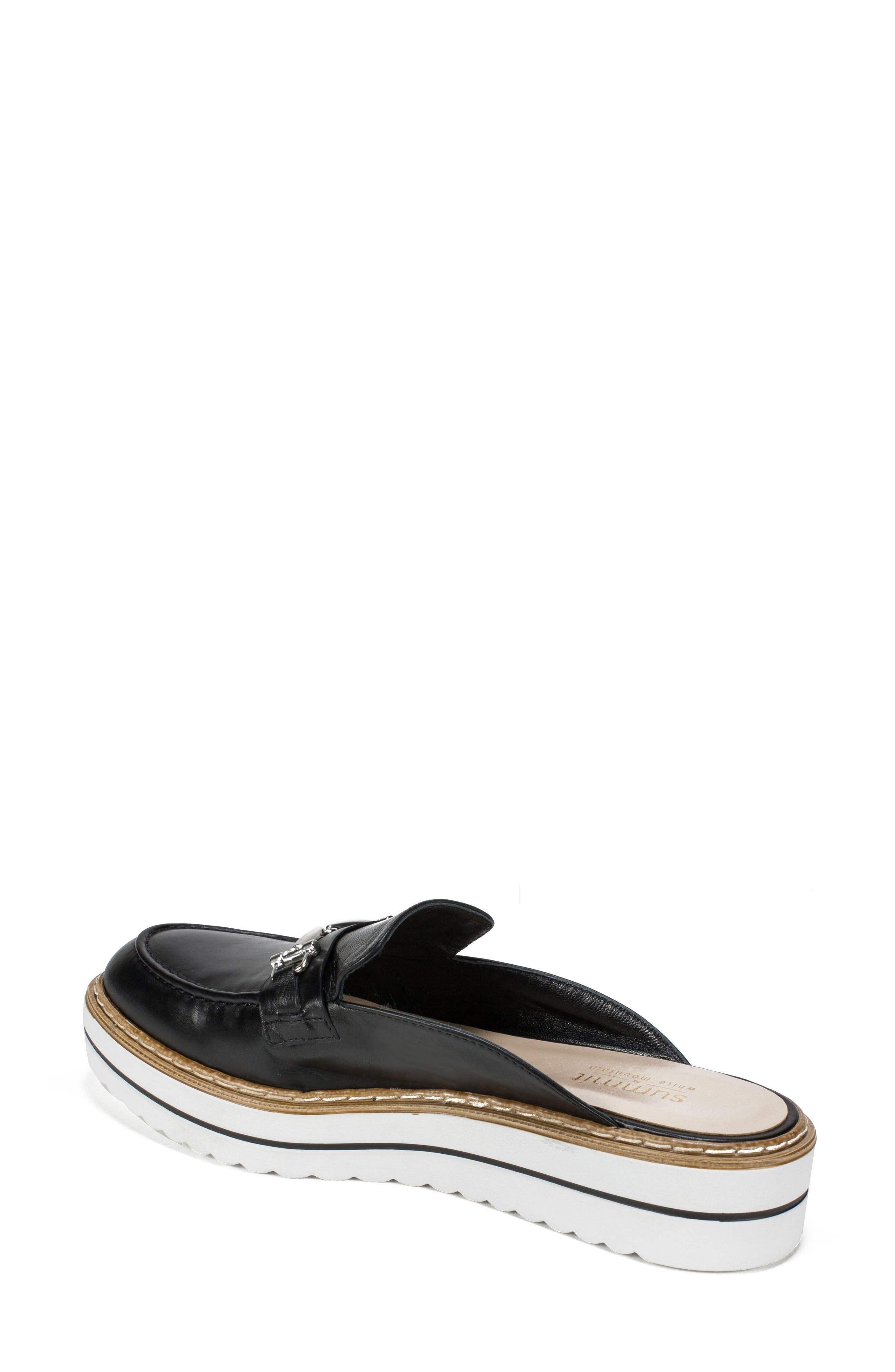 by White Mountain Baline Mule,                             Alternate thumbnail 2, color,                             Black Leather