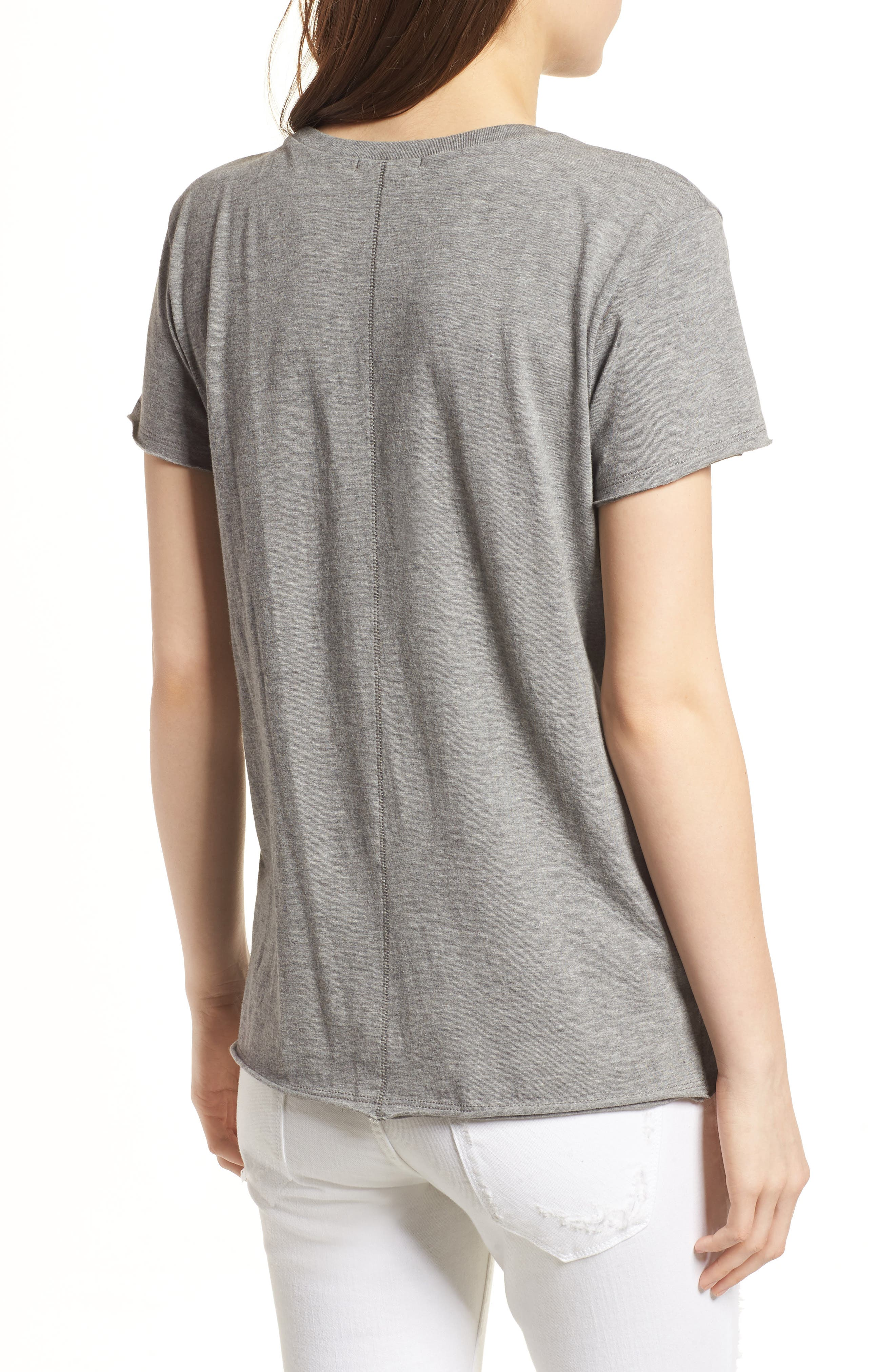 Seattle Mariners Fader Letter Tee,                             Alternate thumbnail 2, color,                             Slate Grey
