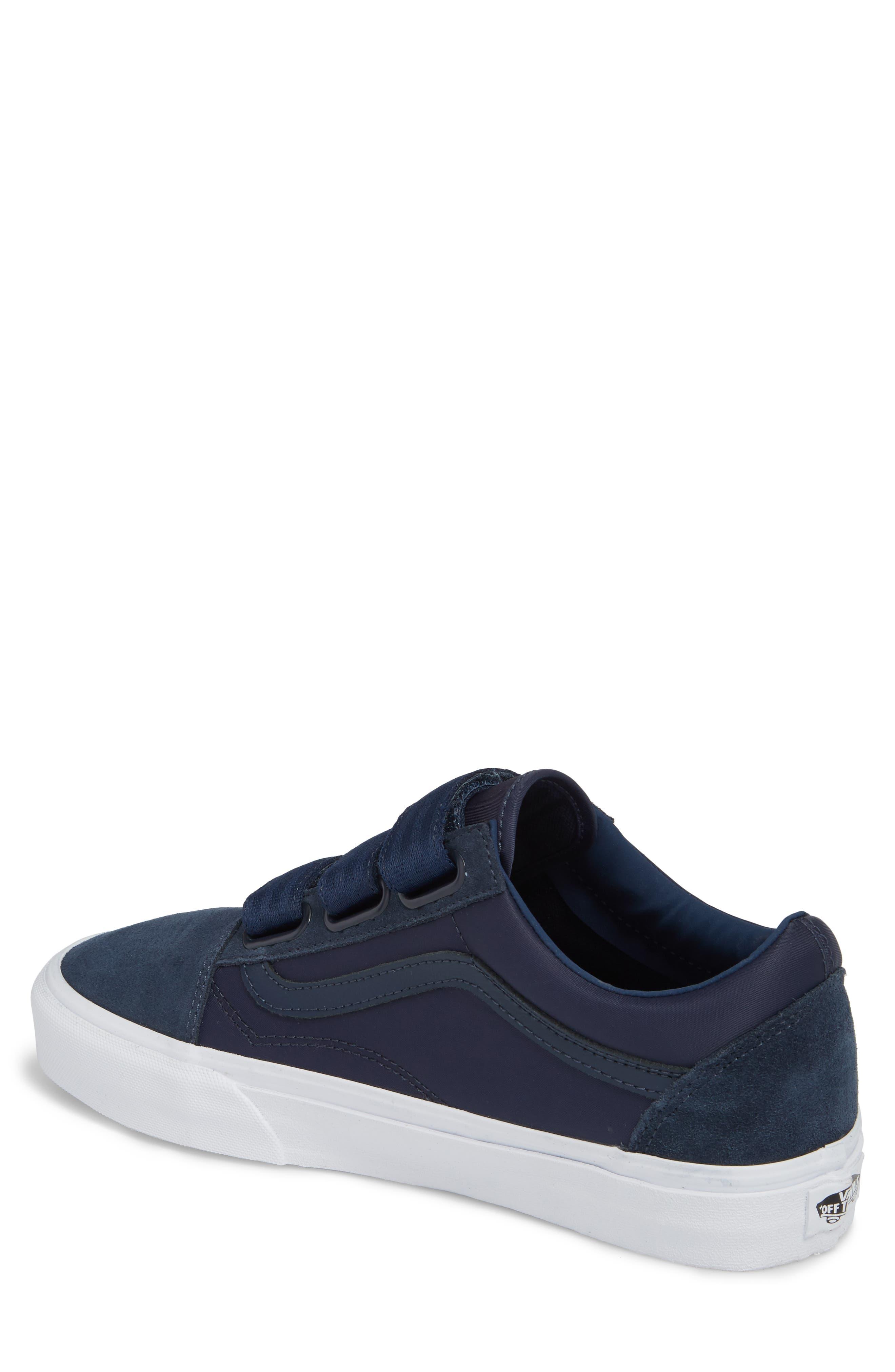 Old School V-Sneaker,                             Alternate thumbnail 2, color,                             Dress Blues