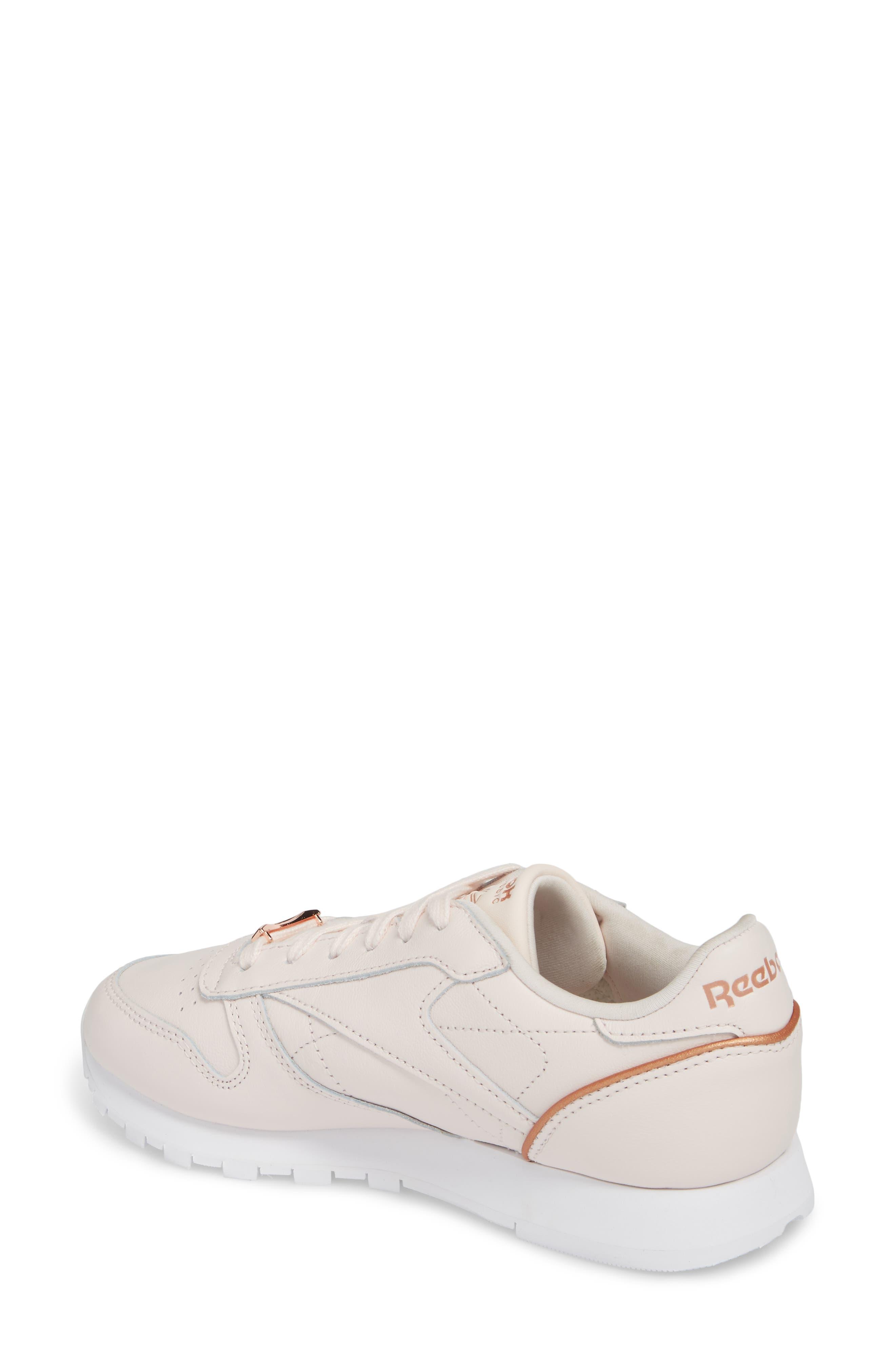 Alternate Image 2  - Reebok Classic Leather HW Sneaker (Women)