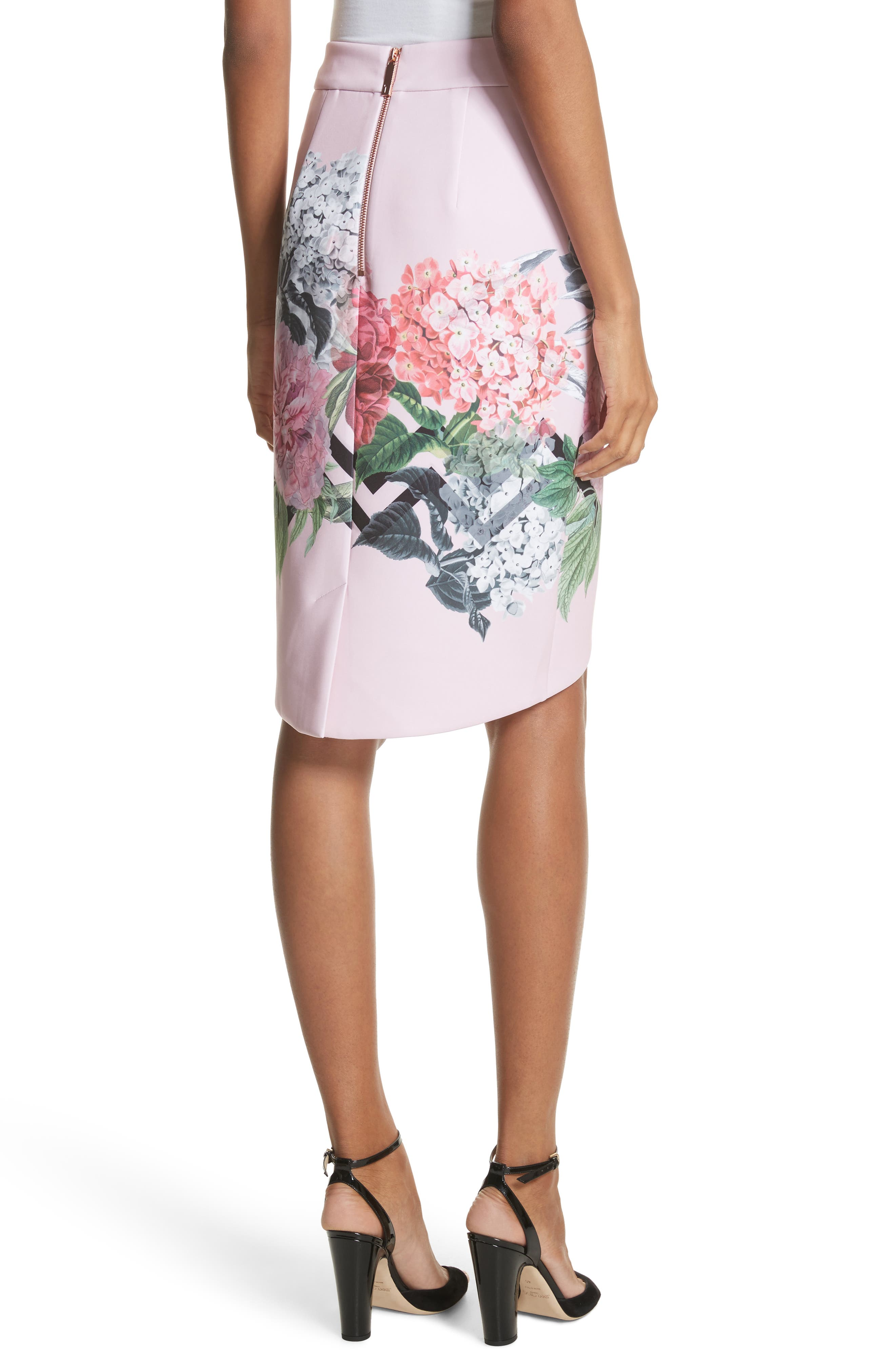 Soella Pencil Skirt,                             Alternate thumbnail 2, color,                             Pale Pink