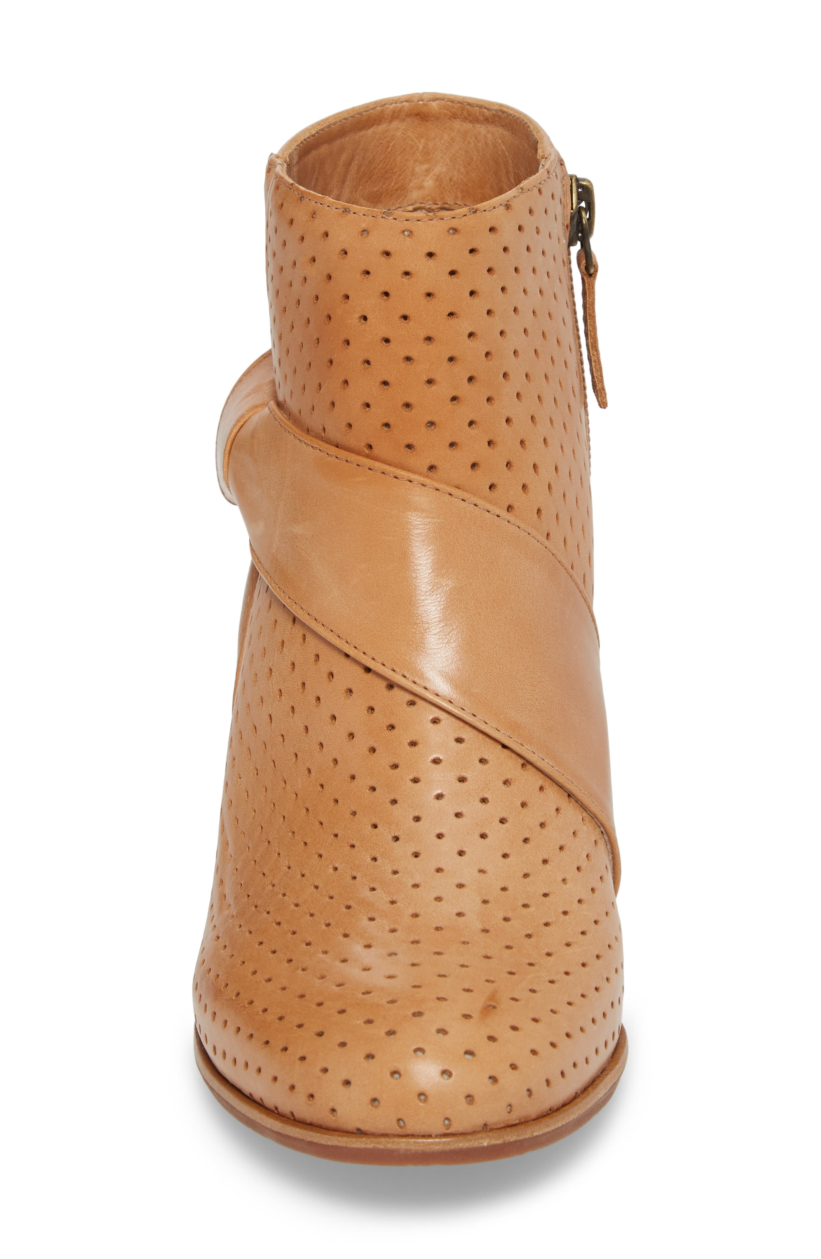 Felice Bootie,                             Alternate thumbnail 4, color,                             Tan Leather