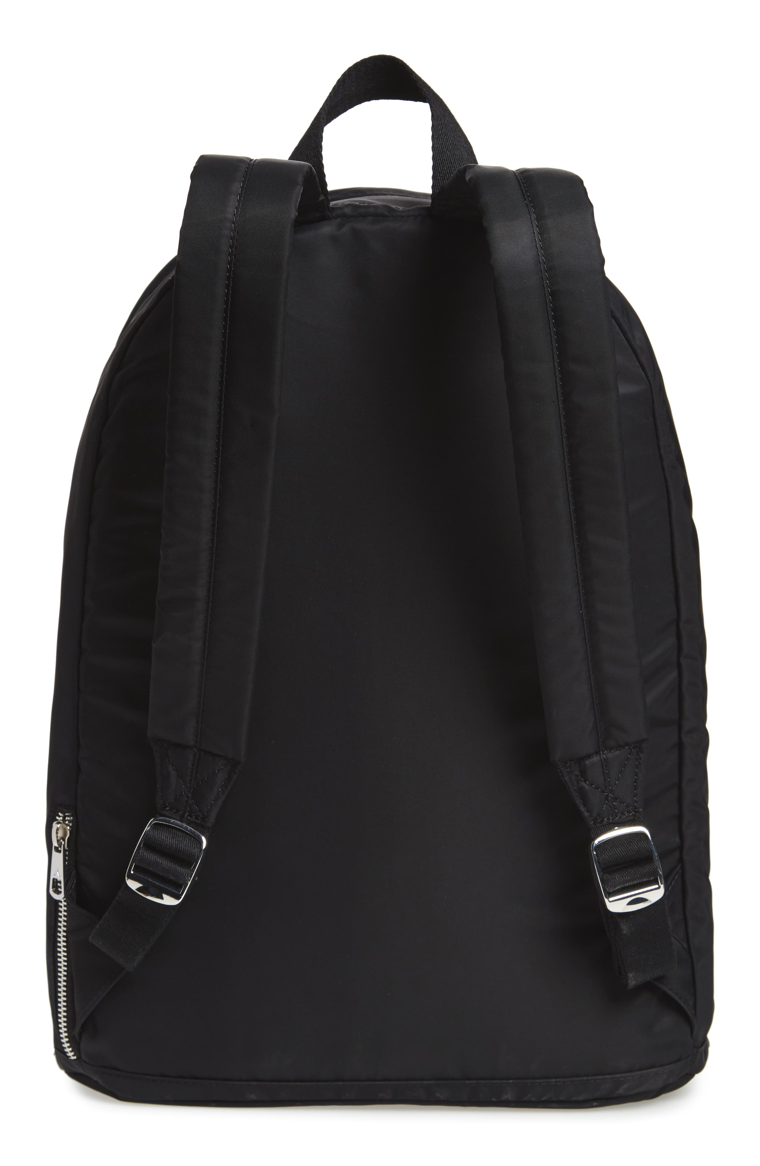 The Heights Lorimer Backpack,                             Alternate thumbnail 3, color,                             Black Stripe