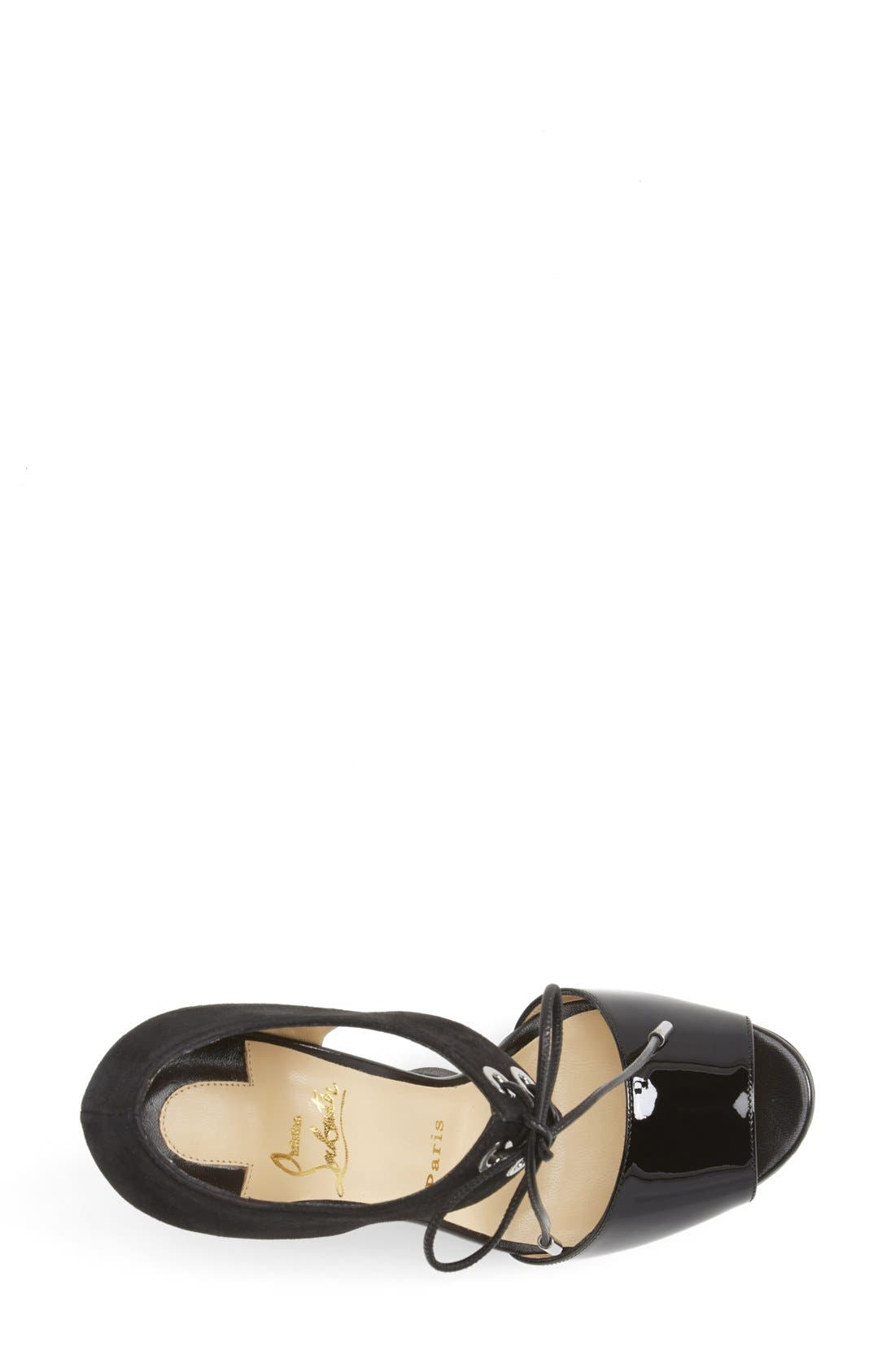 Alternate Image 3  - Christian Louboutin Tie-Up Leather Sandal