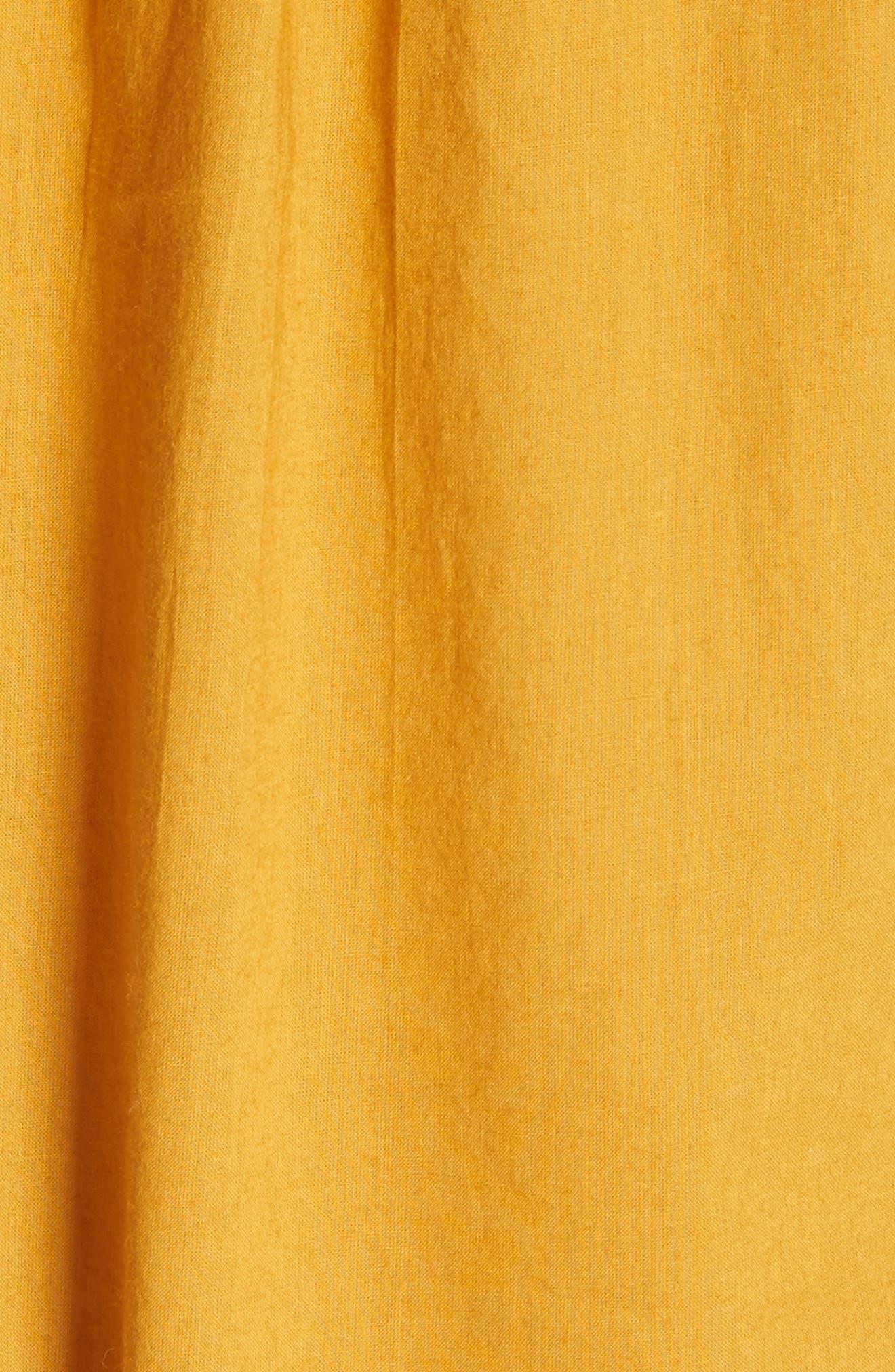 Alternate Image 5  - Free People Pavlo Babydoll Dress