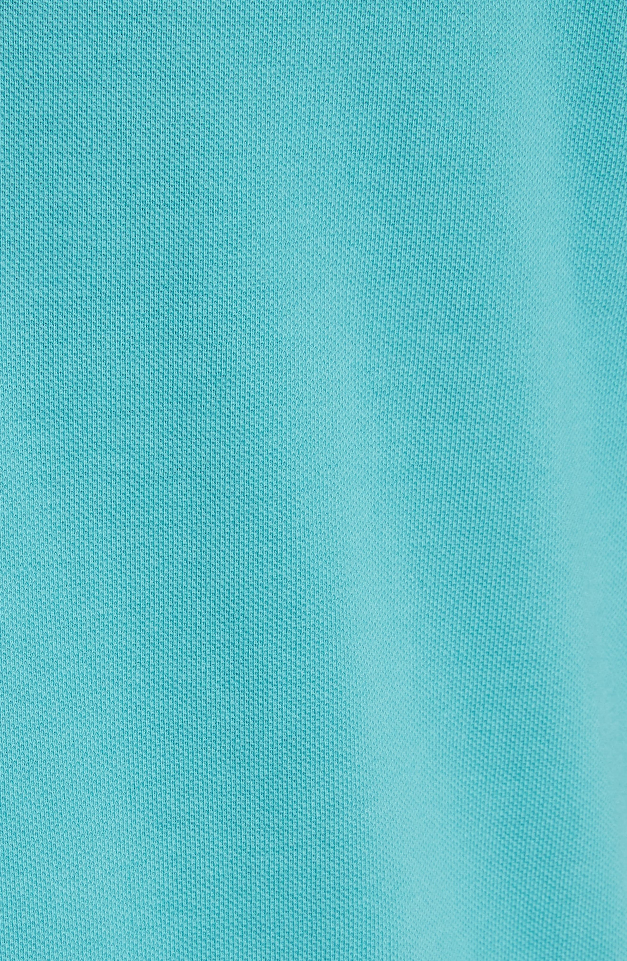 Madison Polo,                             Alternate thumbnail 5, color,                             71590-Soft Teal/White