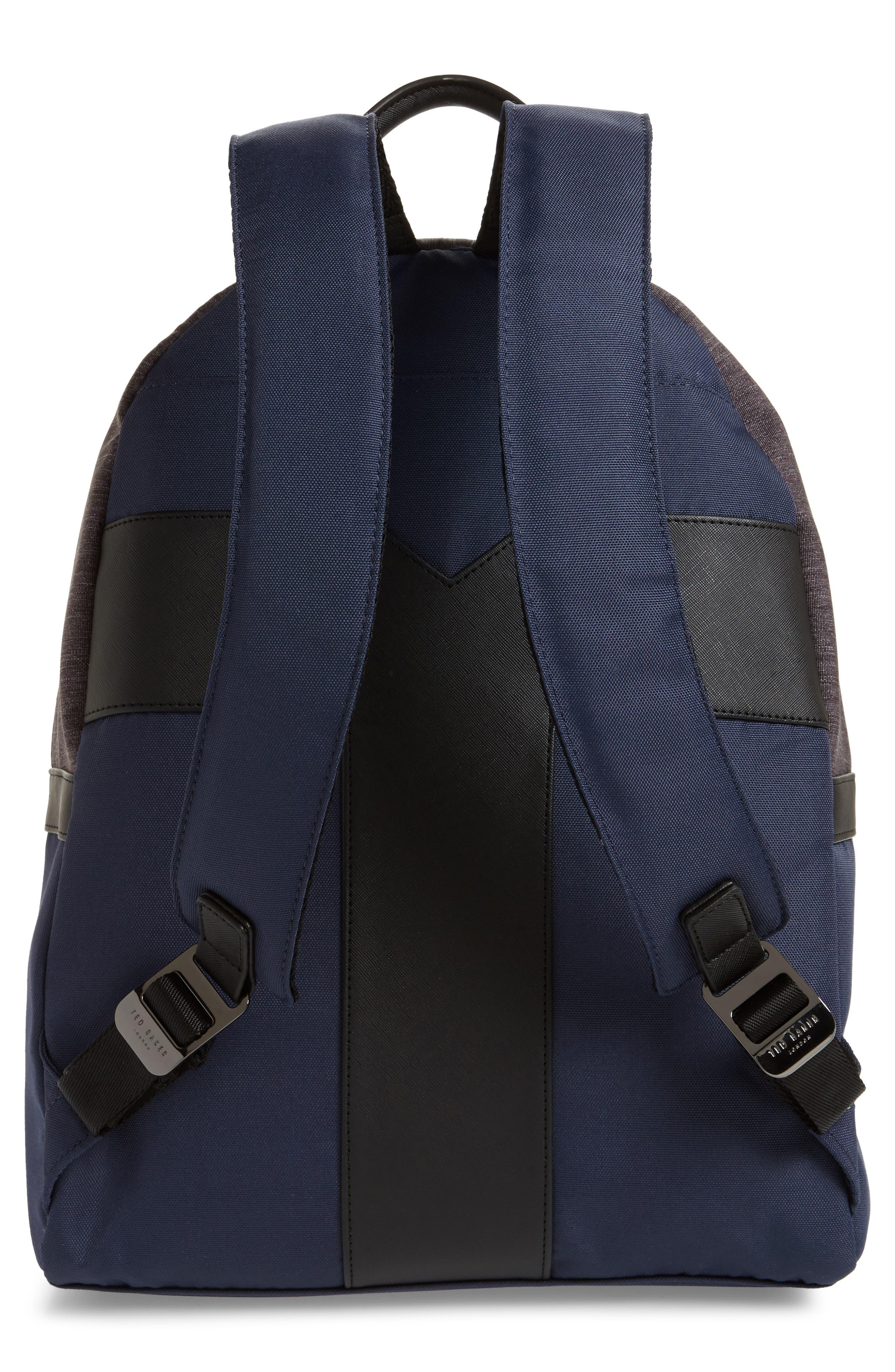 Mangoo Backpack,                             Alternate thumbnail 3, color,                             Navy