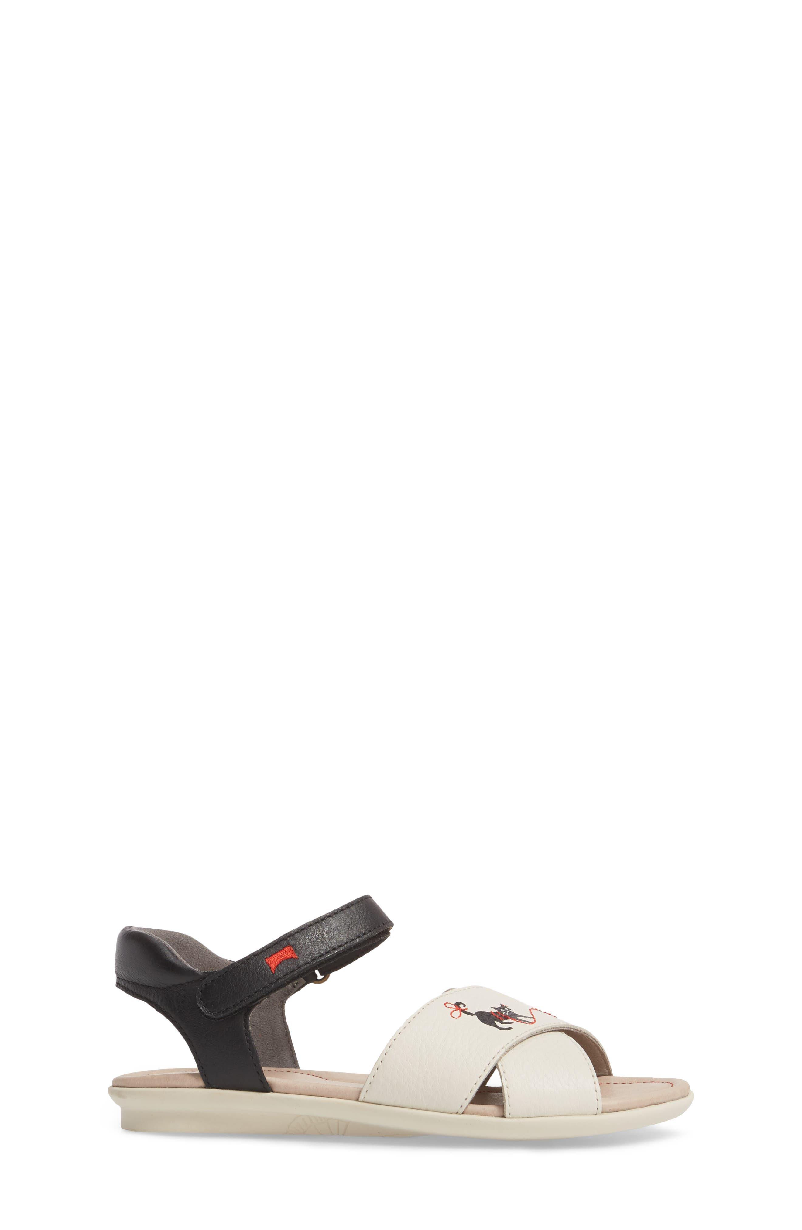 Twins Sandal,                             Alternate thumbnail 3, color,                             White Multi