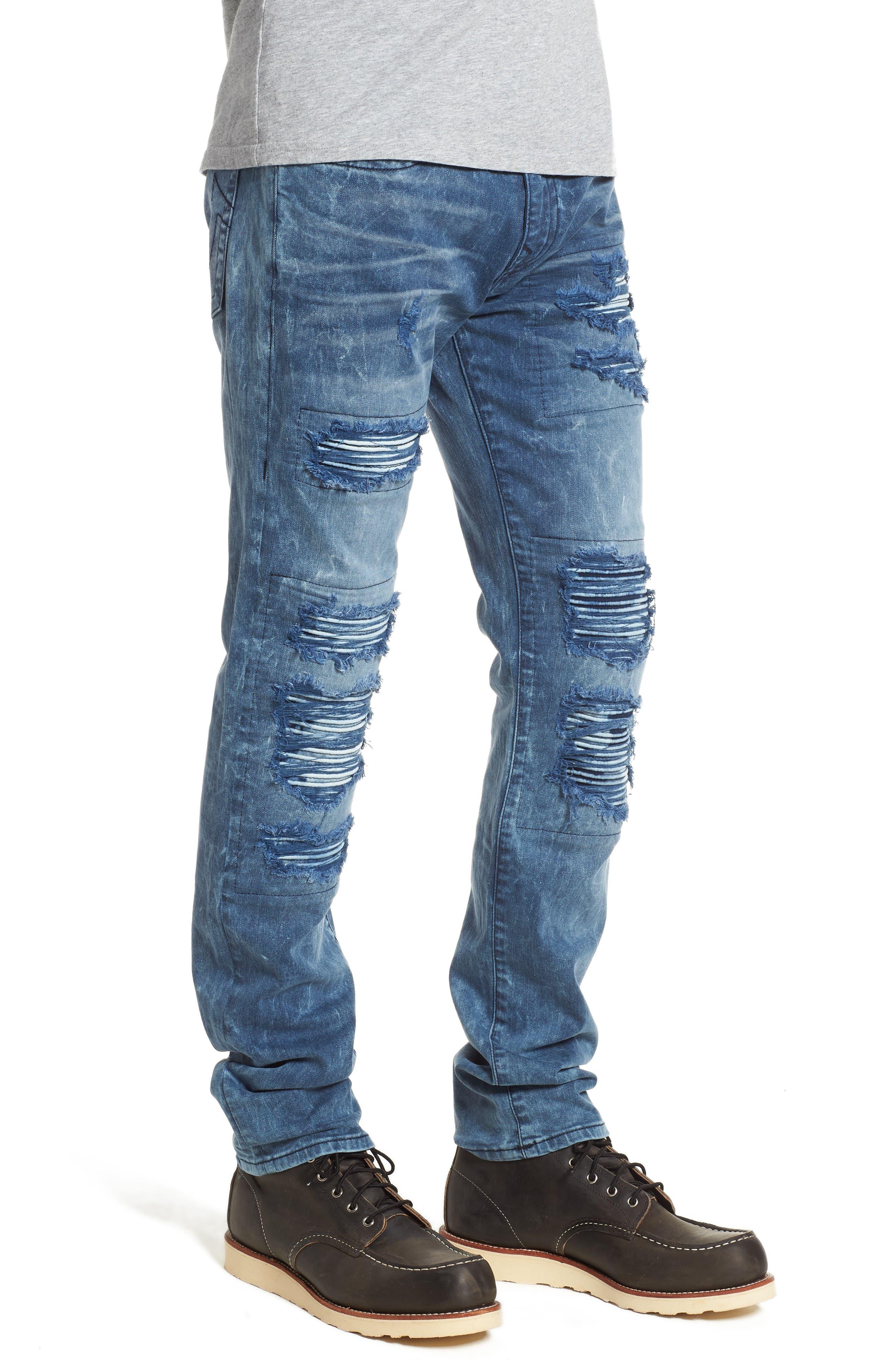 Alternate Image 3  - True Religion Brand Jeans Rocco Skinny Fit Jeans