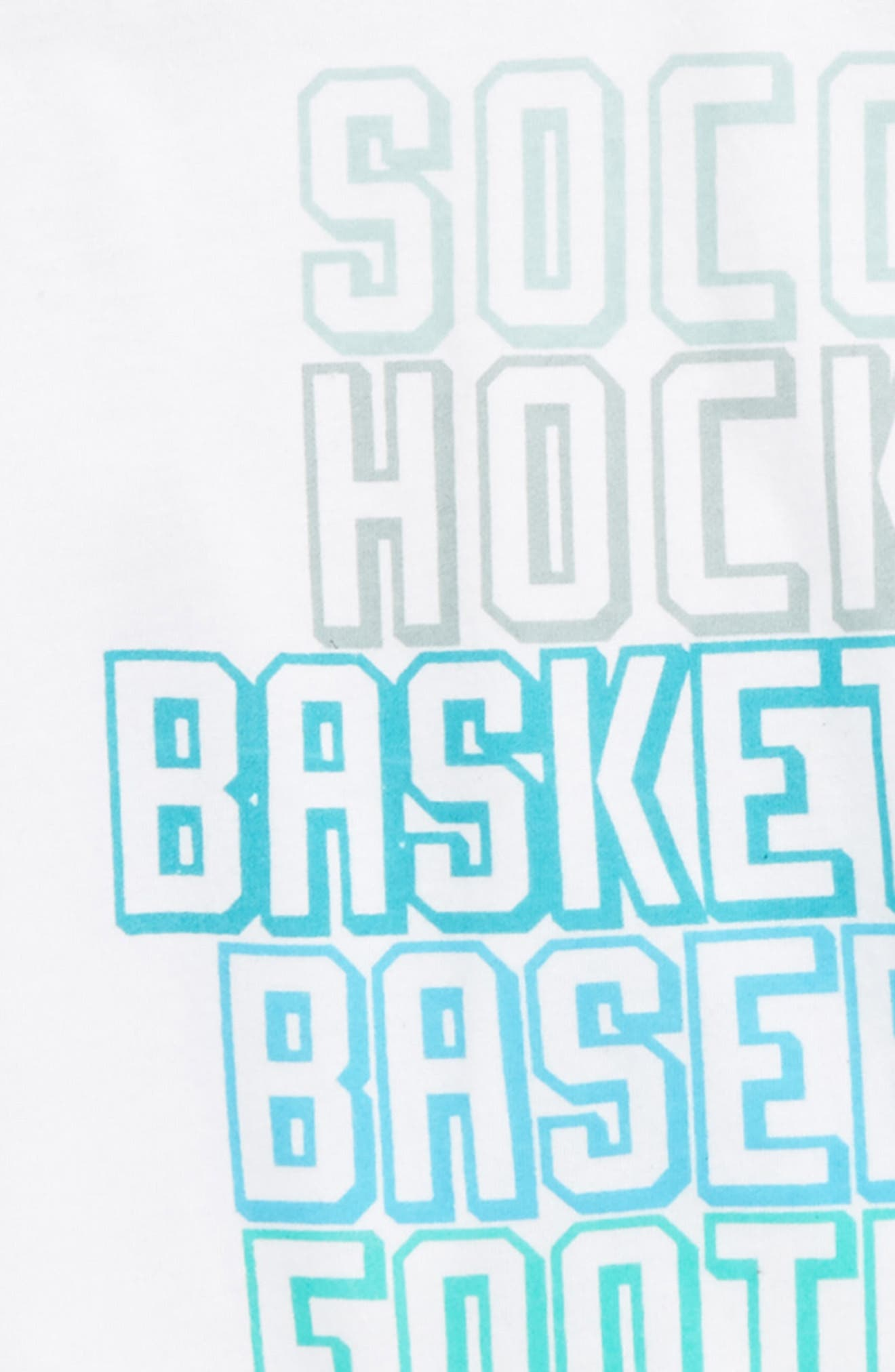 MVP Raglan T-Shirt,                             Alternate thumbnail 2, color,                             White/ Avalon