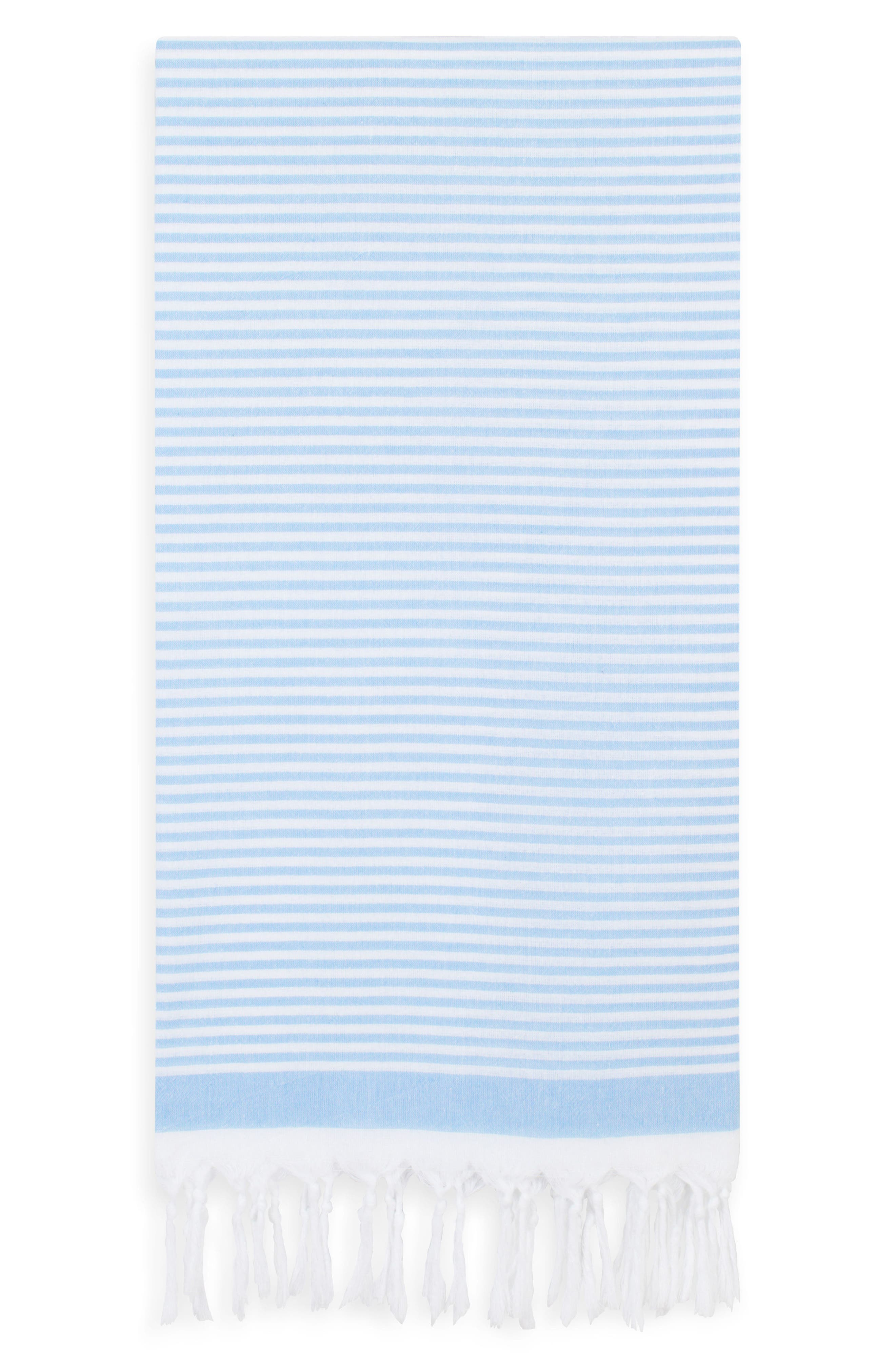 Main Image - Linum Home Textiles Soft Stripes Turkish Pestemal Towel