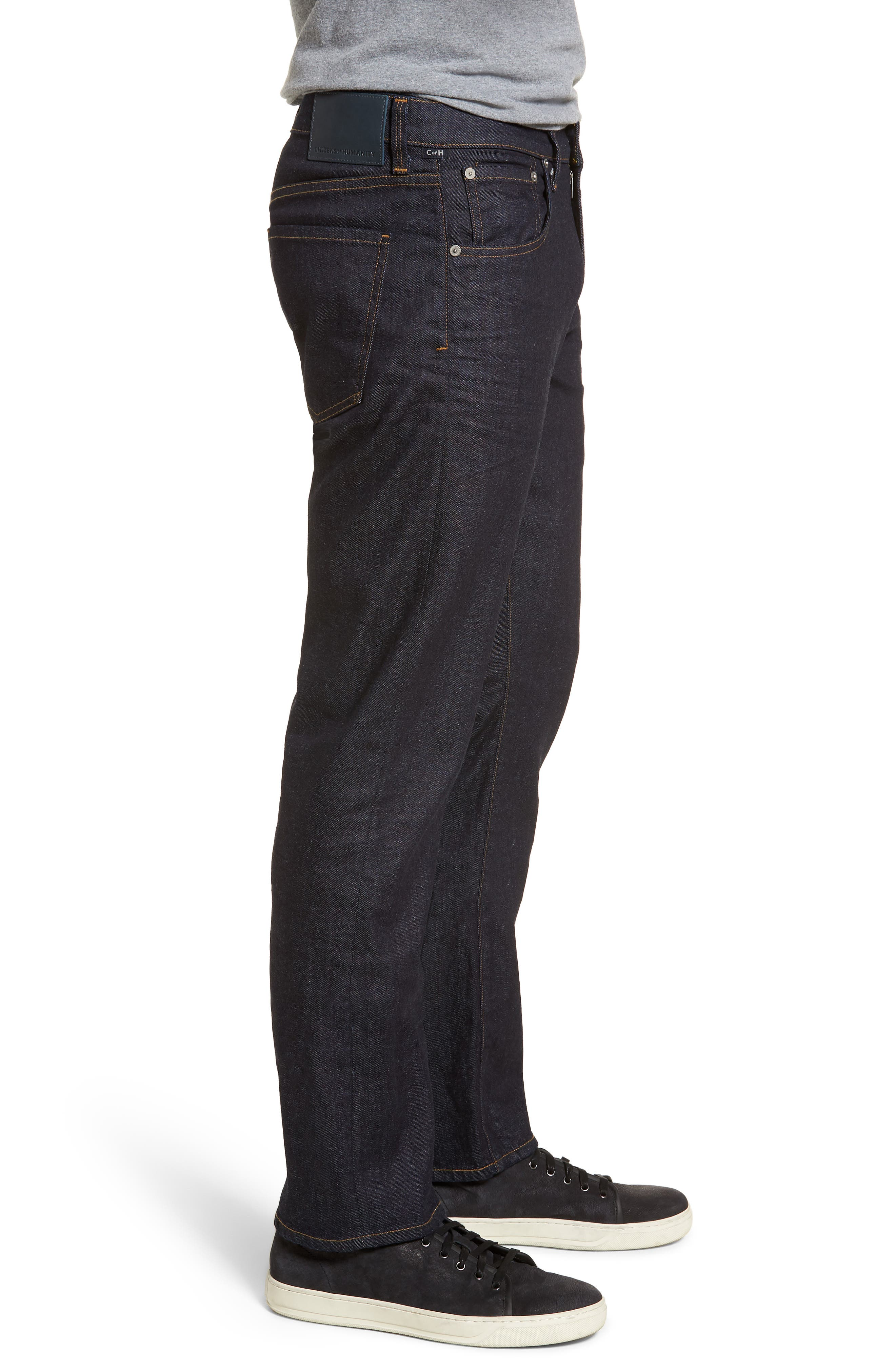 Perfect Relaxed Fit Jeans,                             Alternate thumbnail 3, color,                             Lafayette