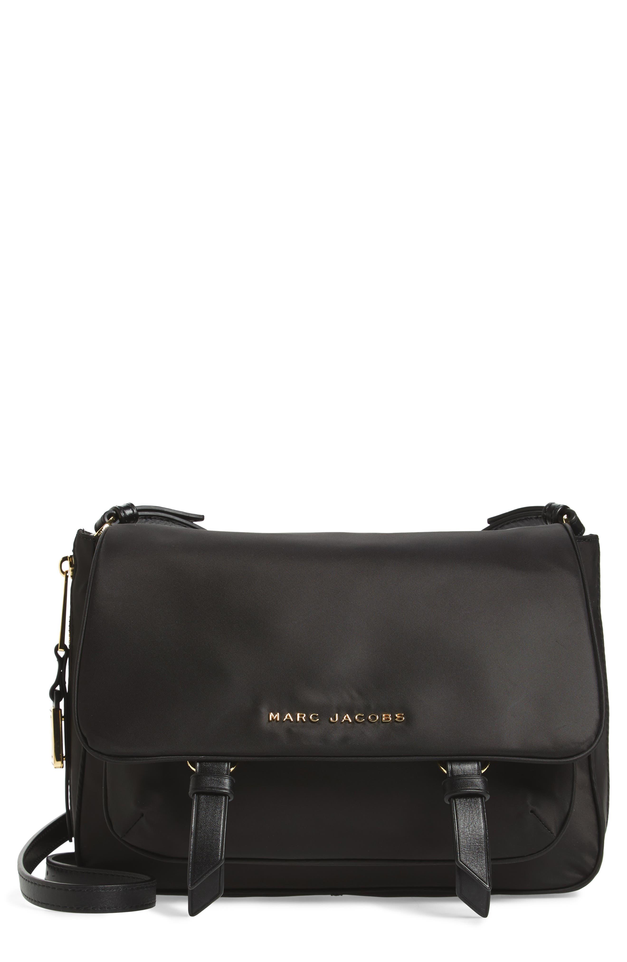 Zip That Small Messenger Bag,                         Main,                         color, Black
