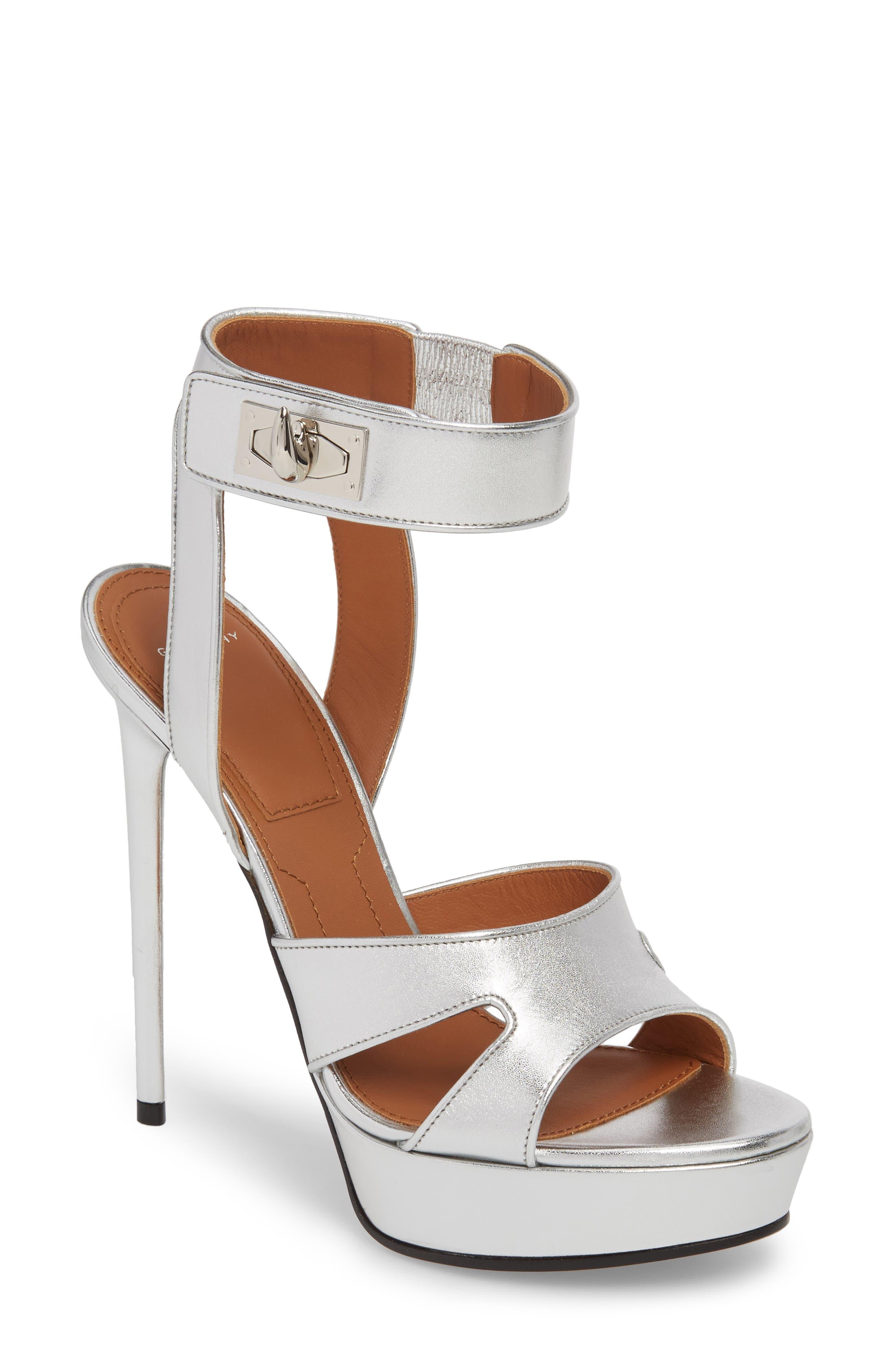 Givenchy Shark Tooth Platform Sandal (Women)