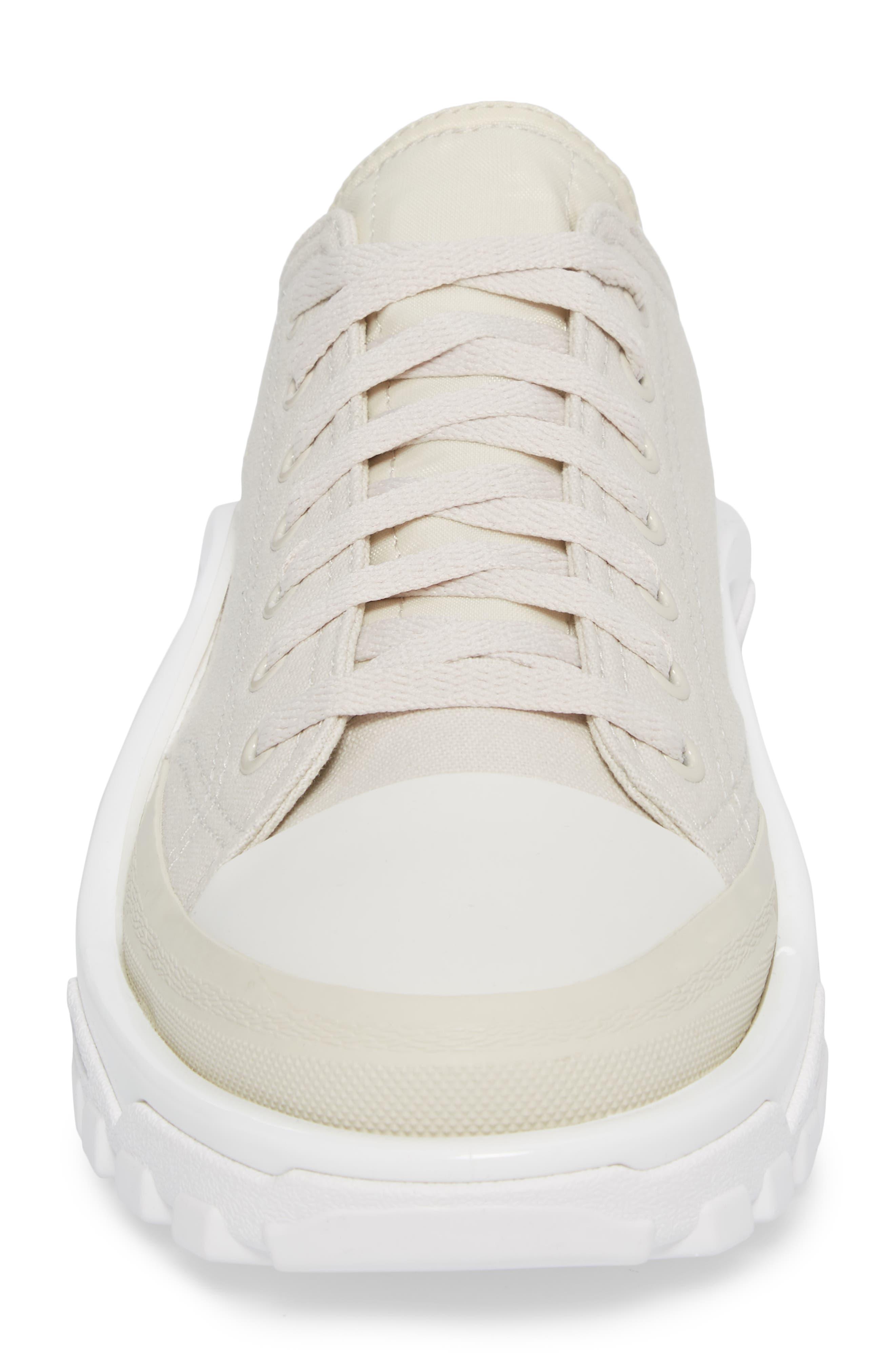 Detroit Low Top Sneaker,                             Alternate thumbnail 4, color,                             Beige/ White