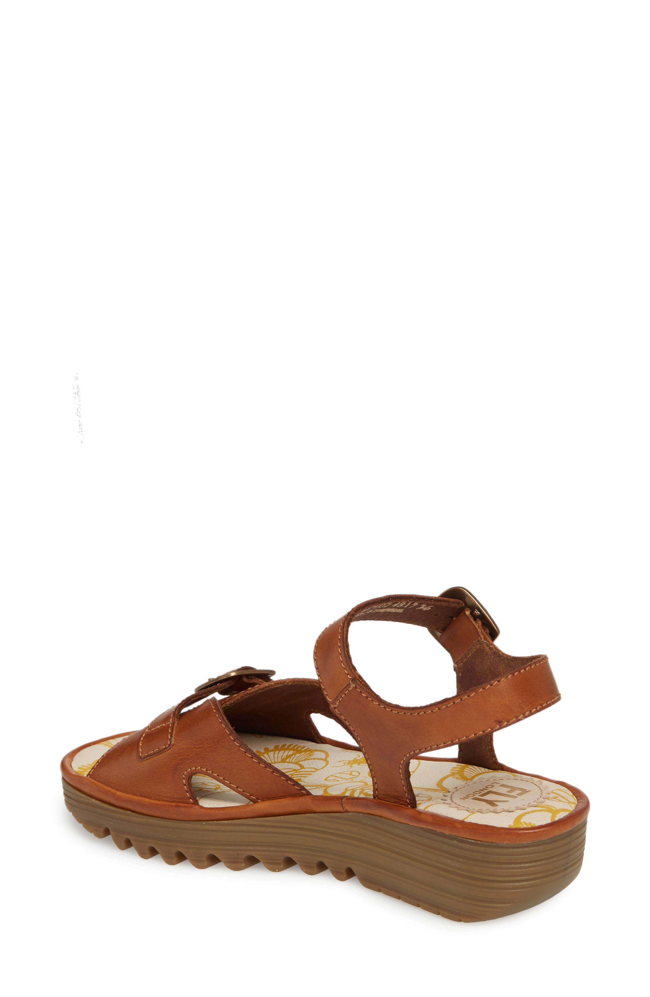 Egal Sandal,                             Alternate thumbnail 2, color,                             Tan Colmar Leather