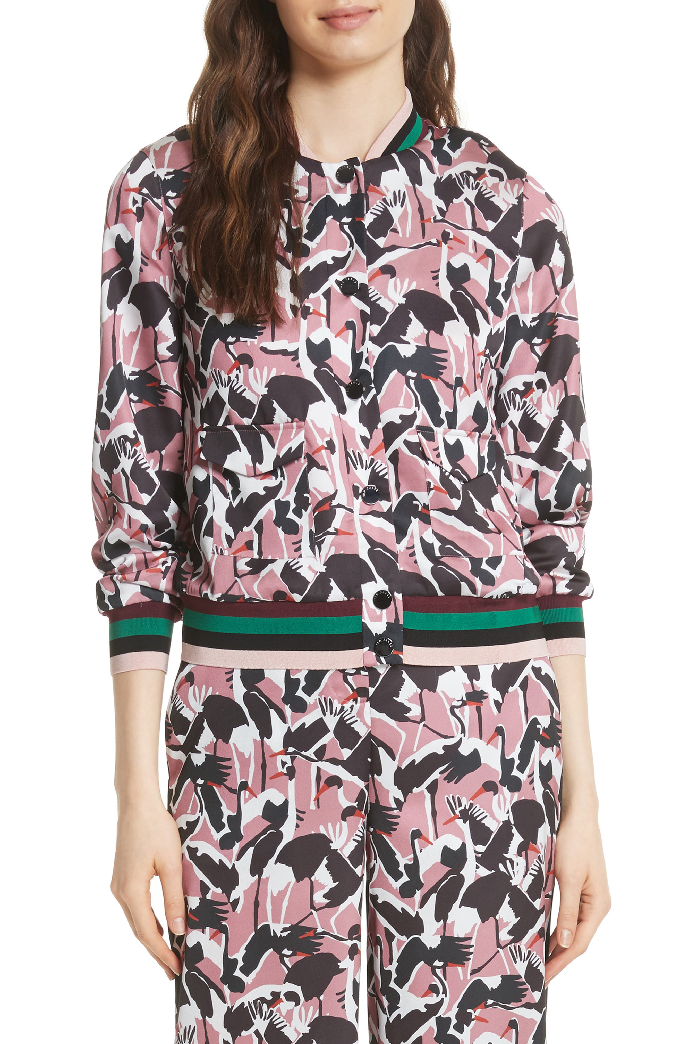 Ted Baker London Colour by Numbers Oosel Bomber Jacket