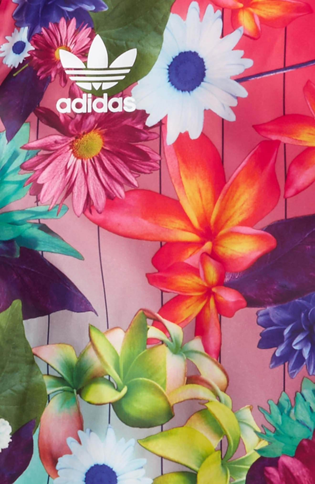 adidas Graphic Windbreaker Jacket,                             Alternate thumbnail 2, color,                             Multicolor