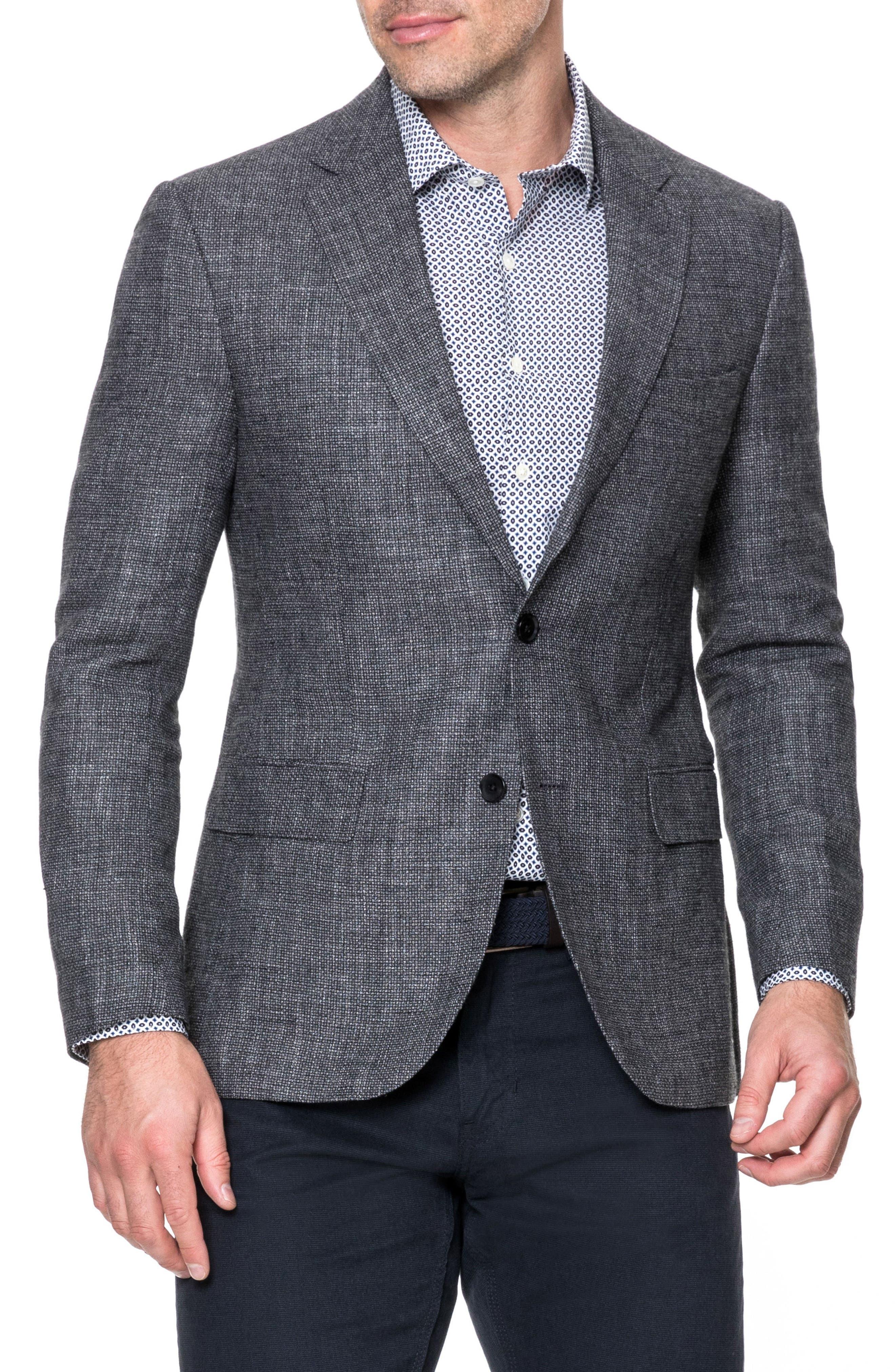 Humphreys Sports Fit Blazer,                         Main,                         color, Granite