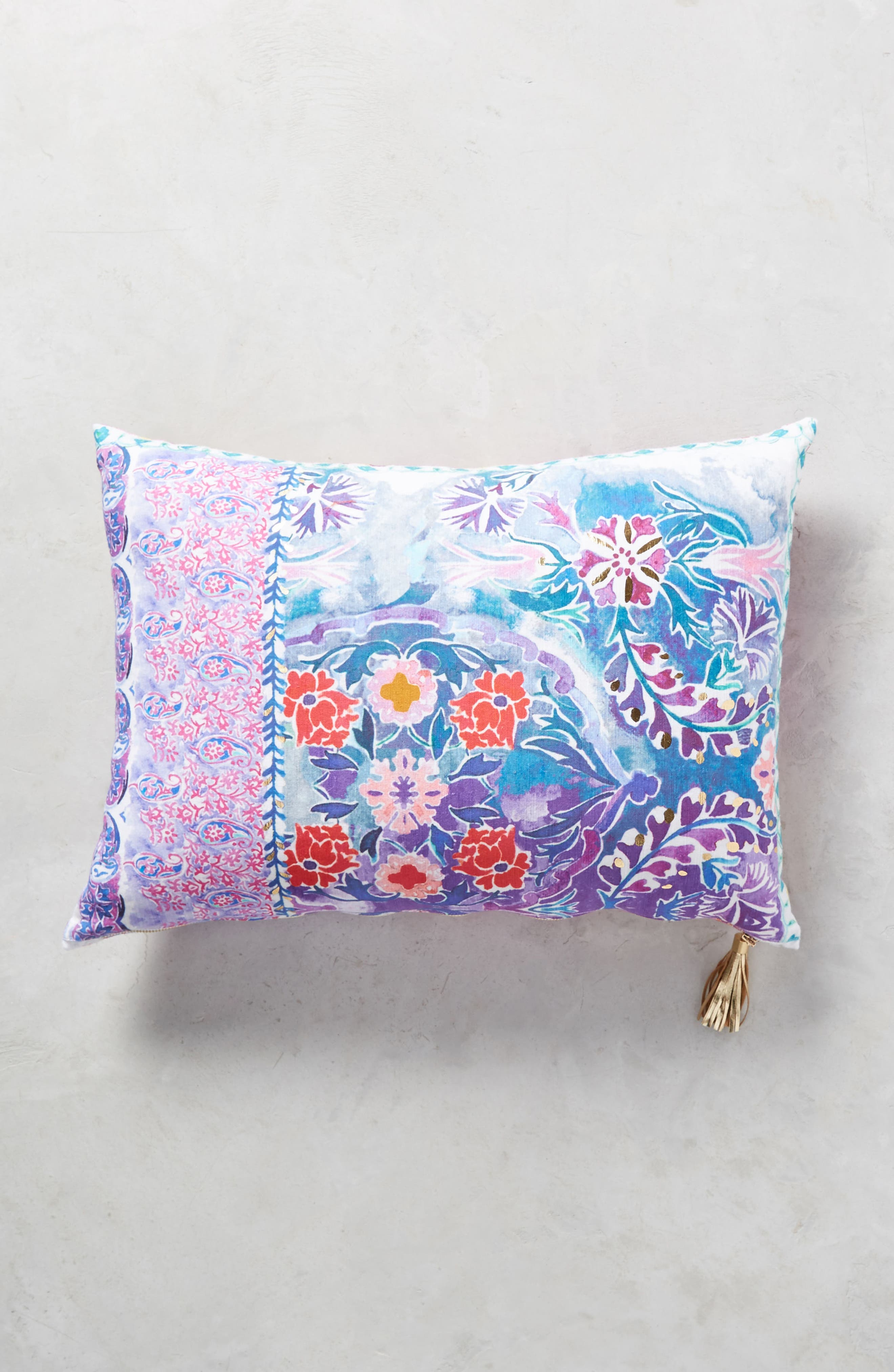 Tali Accent Pillow,                             Main thumbnail 1, color,                             Blue