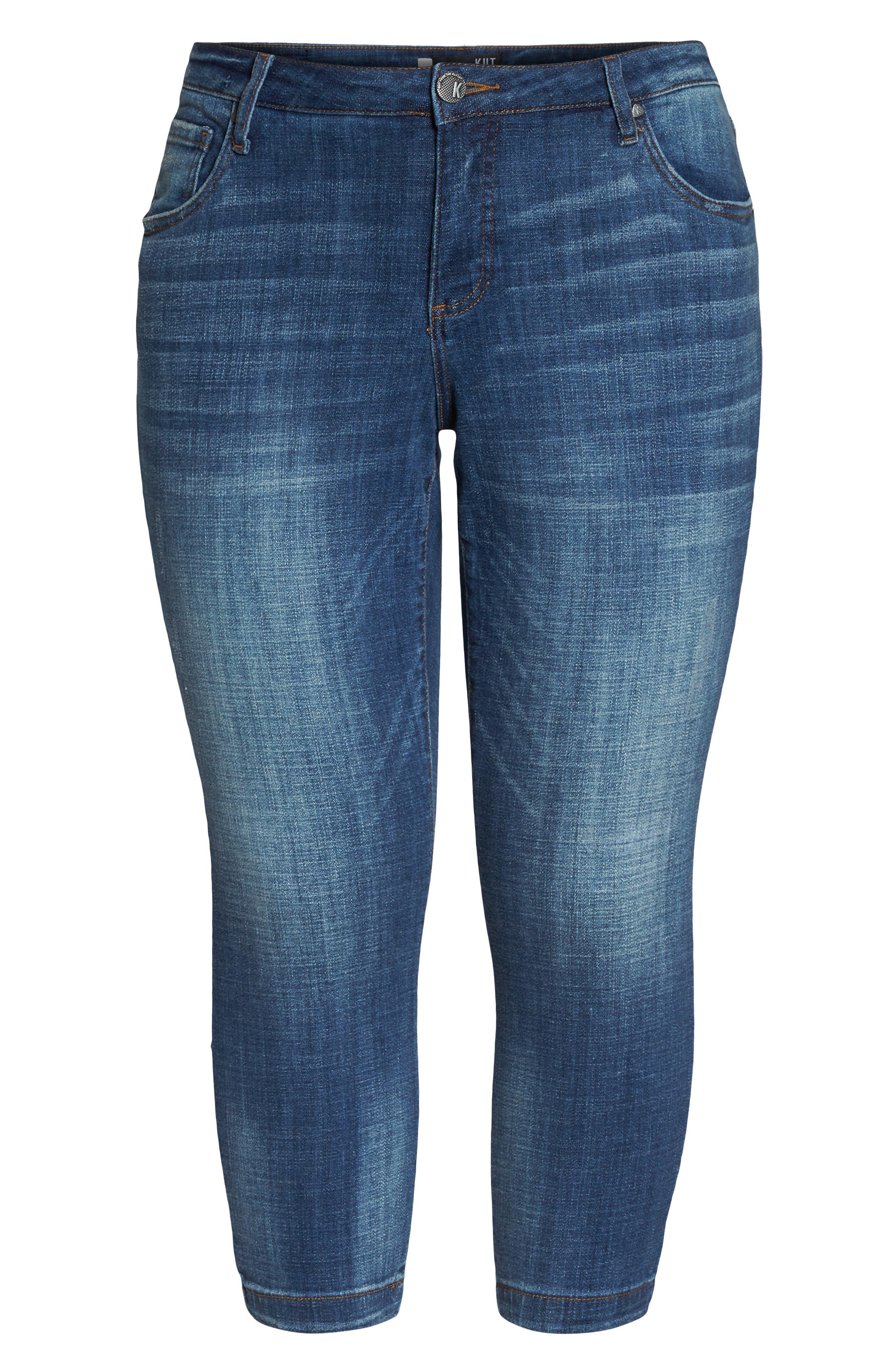 Lauren Crop Jeans,                             Alternate thumbnail 6, color,                             Entrusted