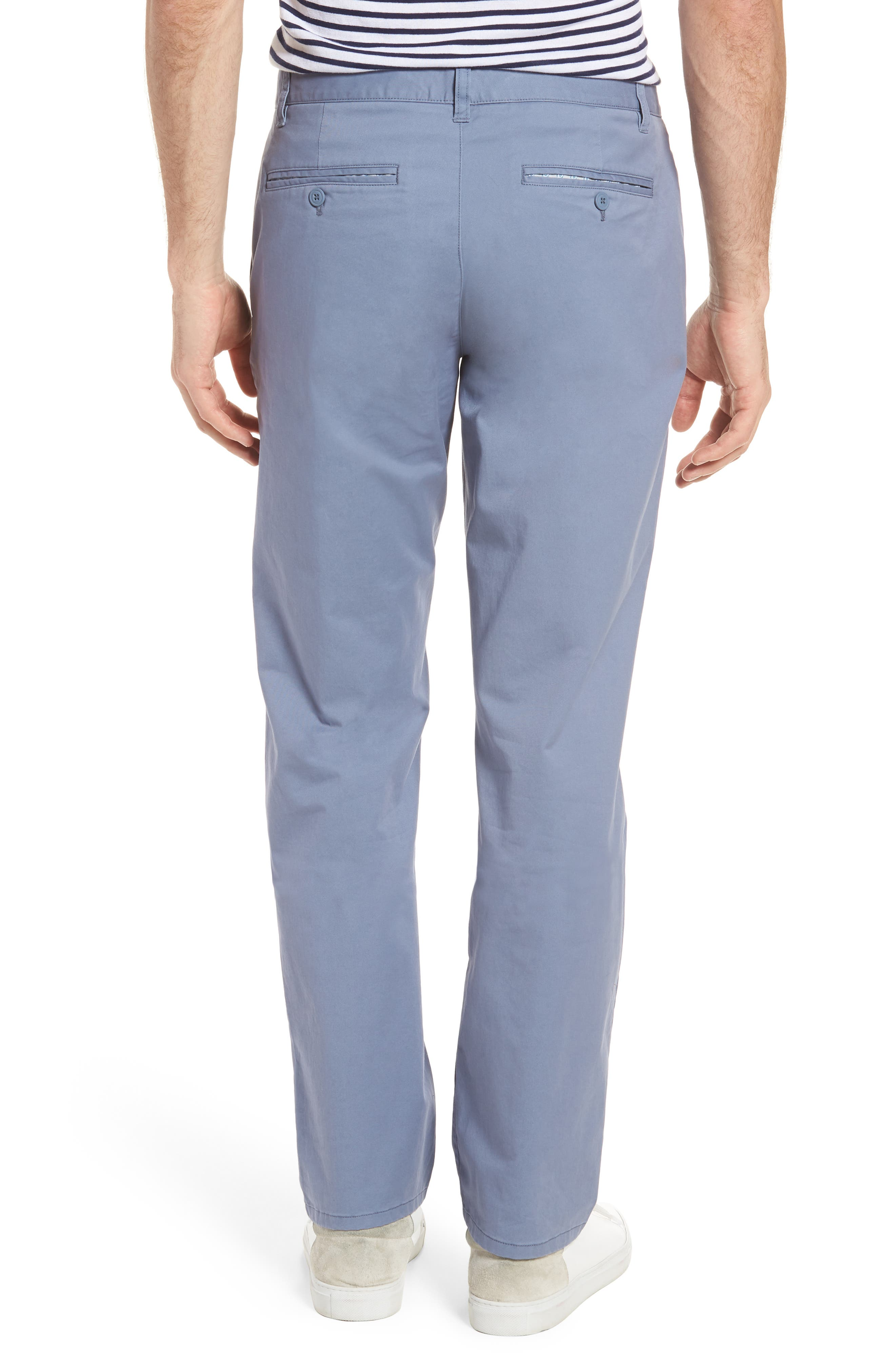 Straight Leg Stretch Washed Chinos,                             Alternate thumbnail 2, color,                             Tempest Purple