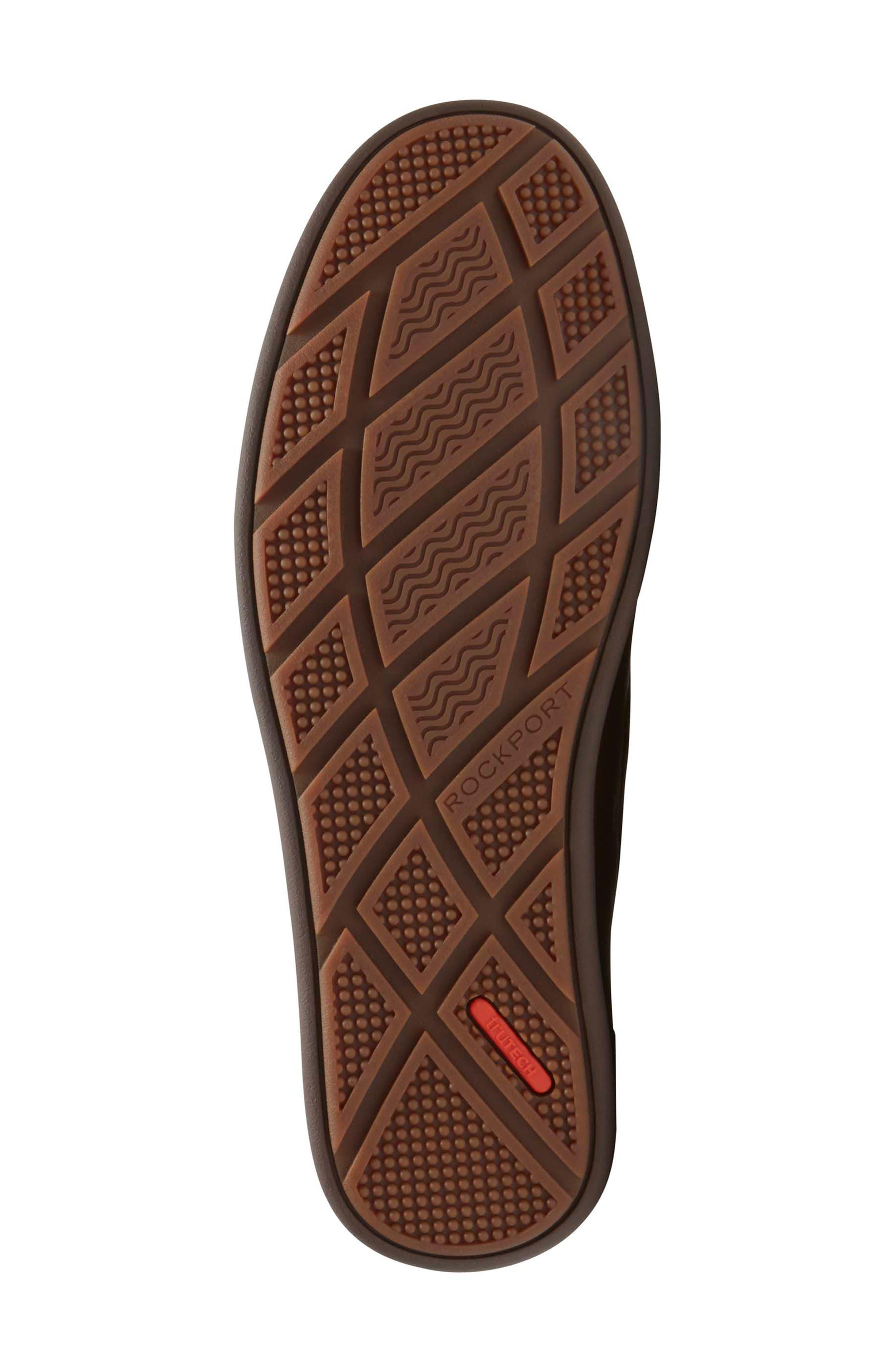 Bennett Lane Slip-On,                             Alternate thumbnail 3, color,                             Brown Leather