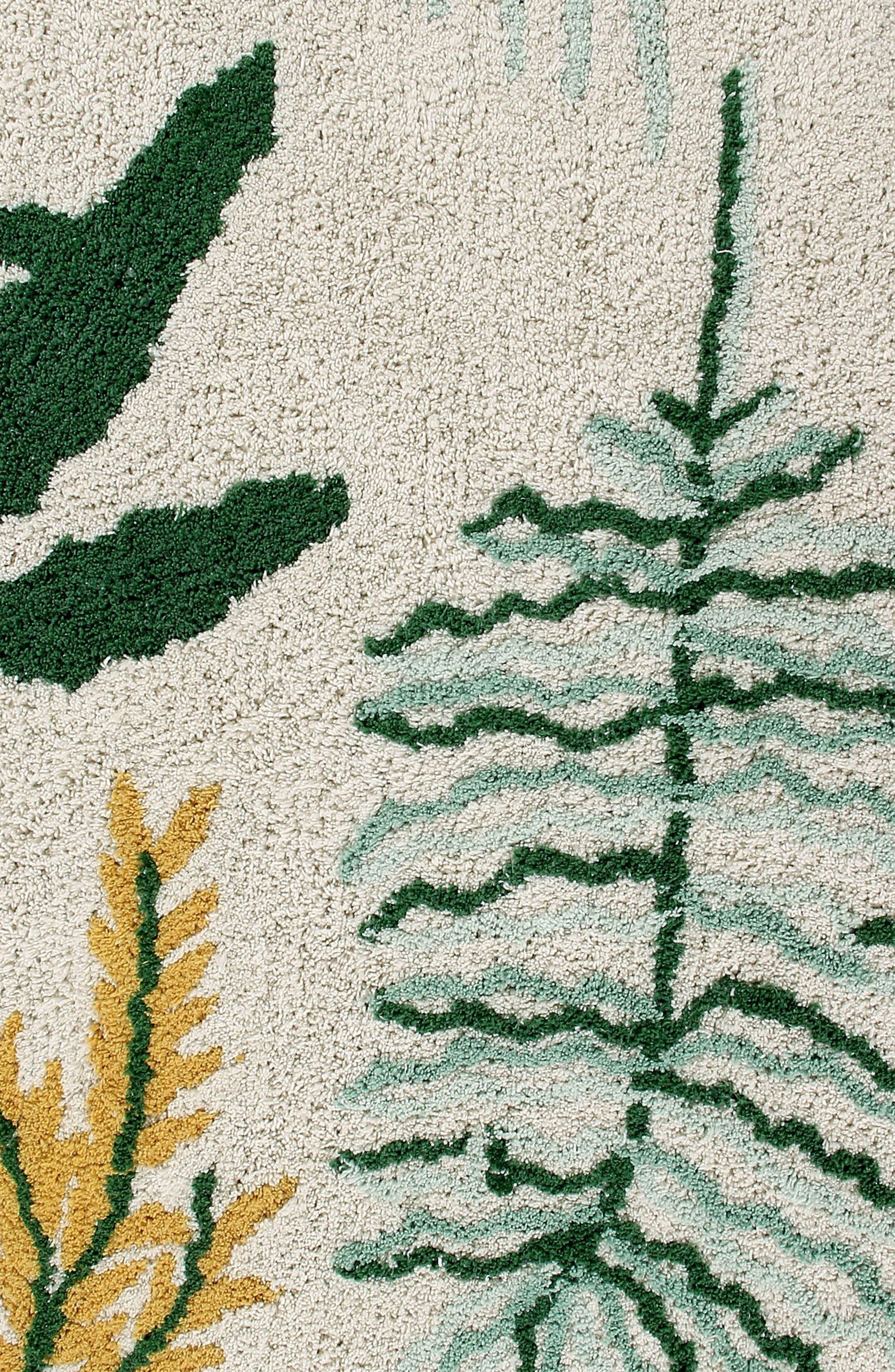 Botanical Rug,                             Alternate thumbnail 2, color,                             Botanic Plants