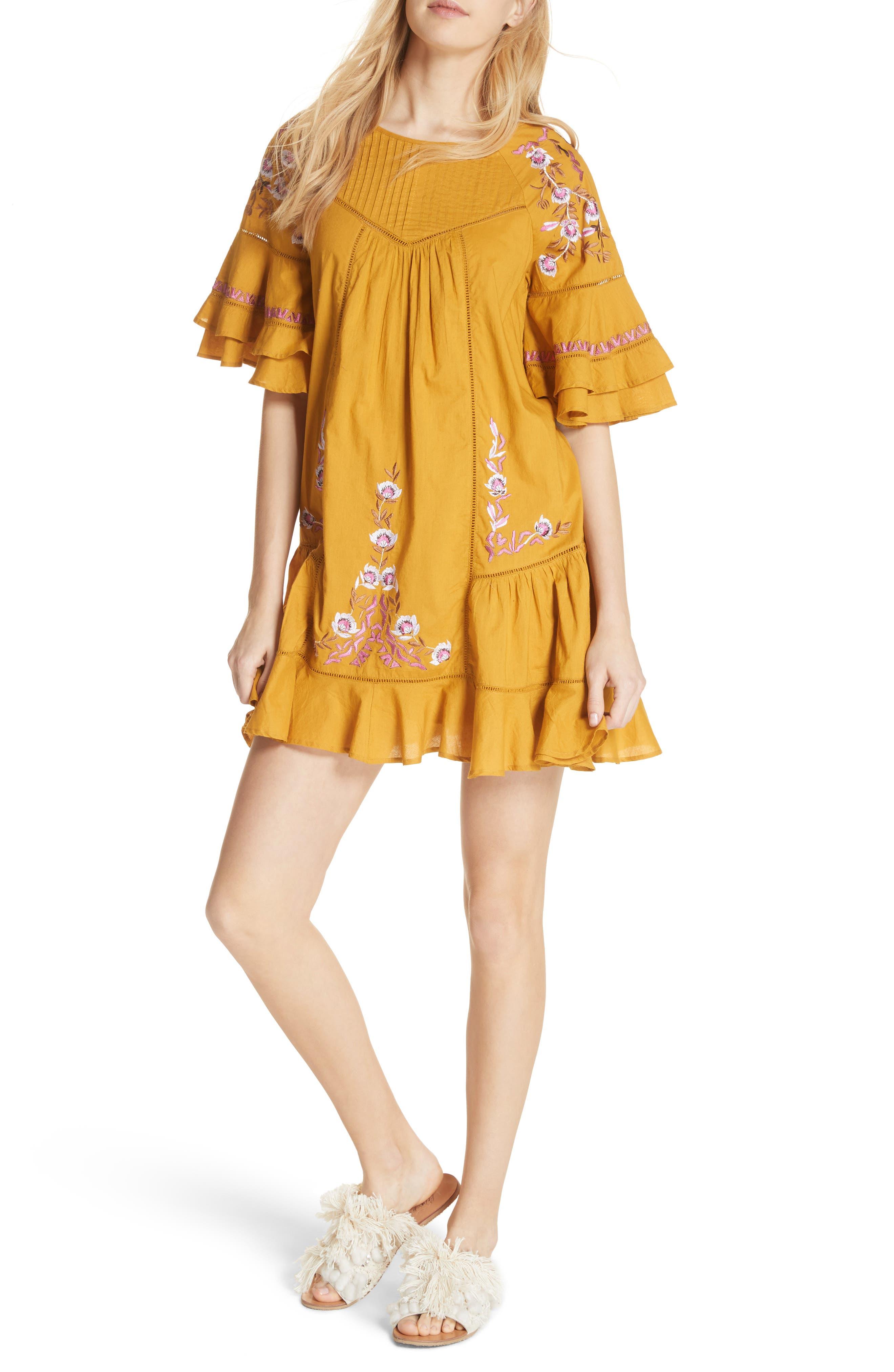 Free People Pavlo Babydoll Dress