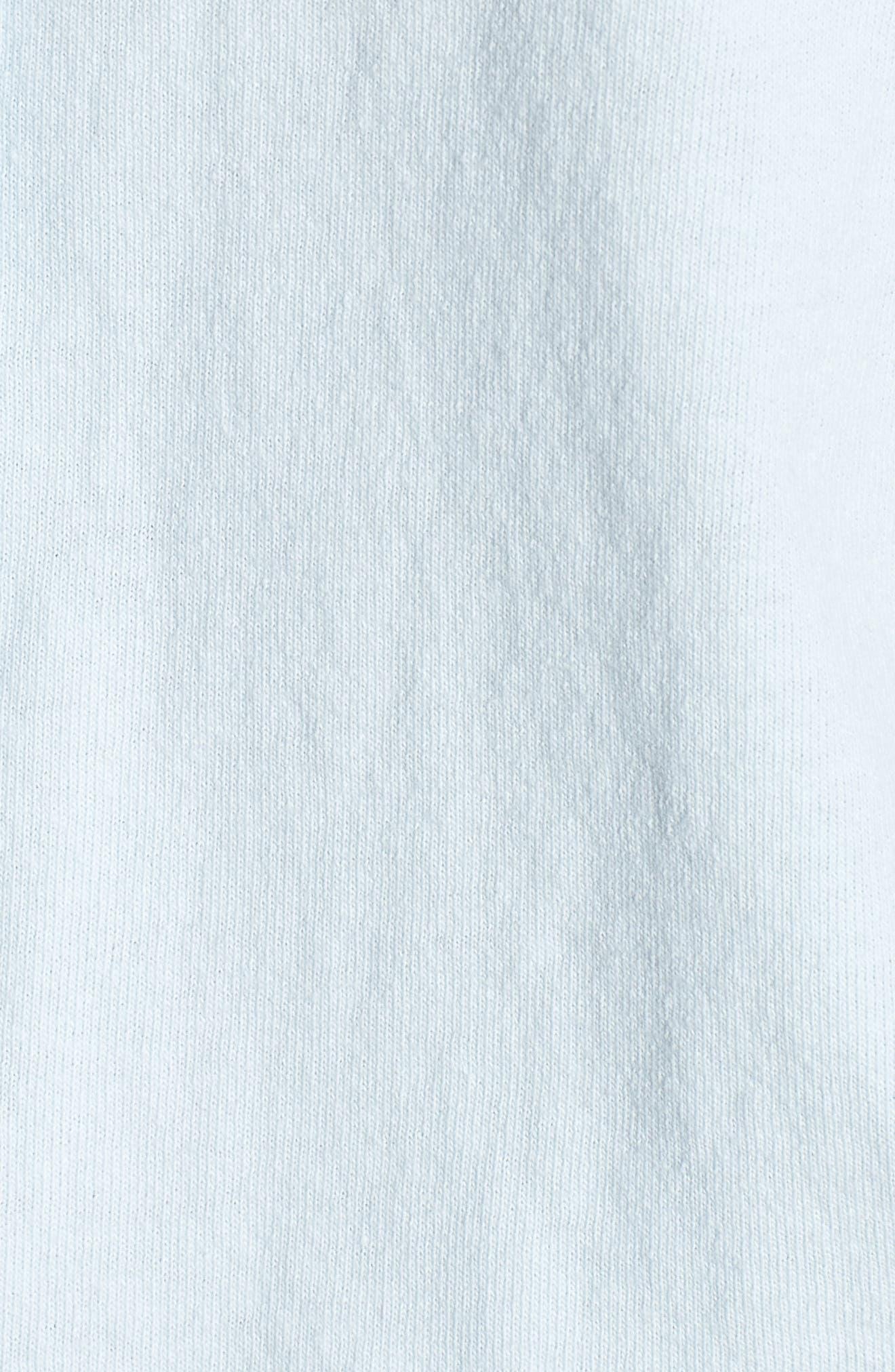 Knit Button Front Shirt,                             Alternate thumbnail 6, color,                             Mali-Blue