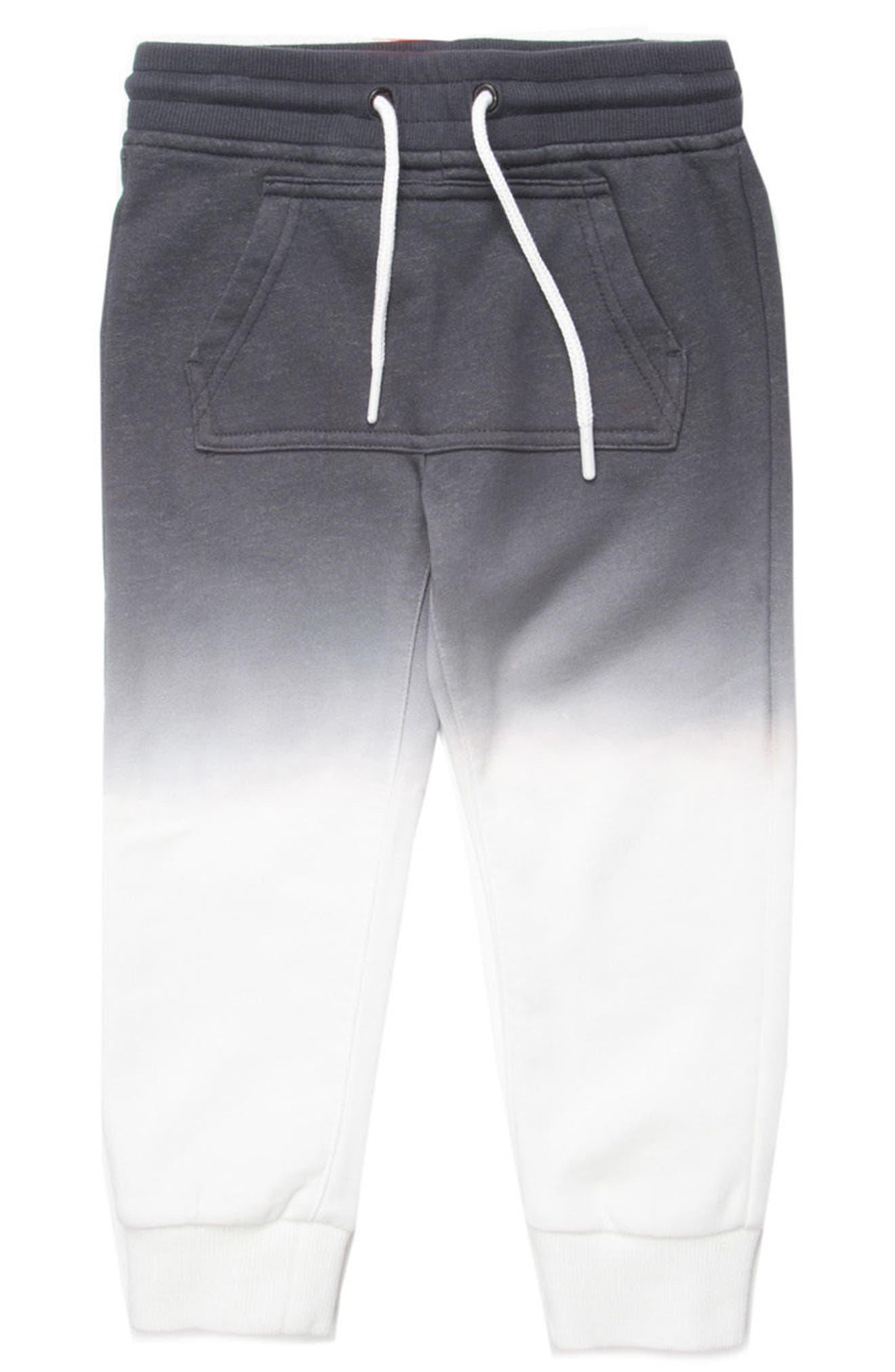 Gino Ombré Jogger Pants,                         Main,                         color, Black