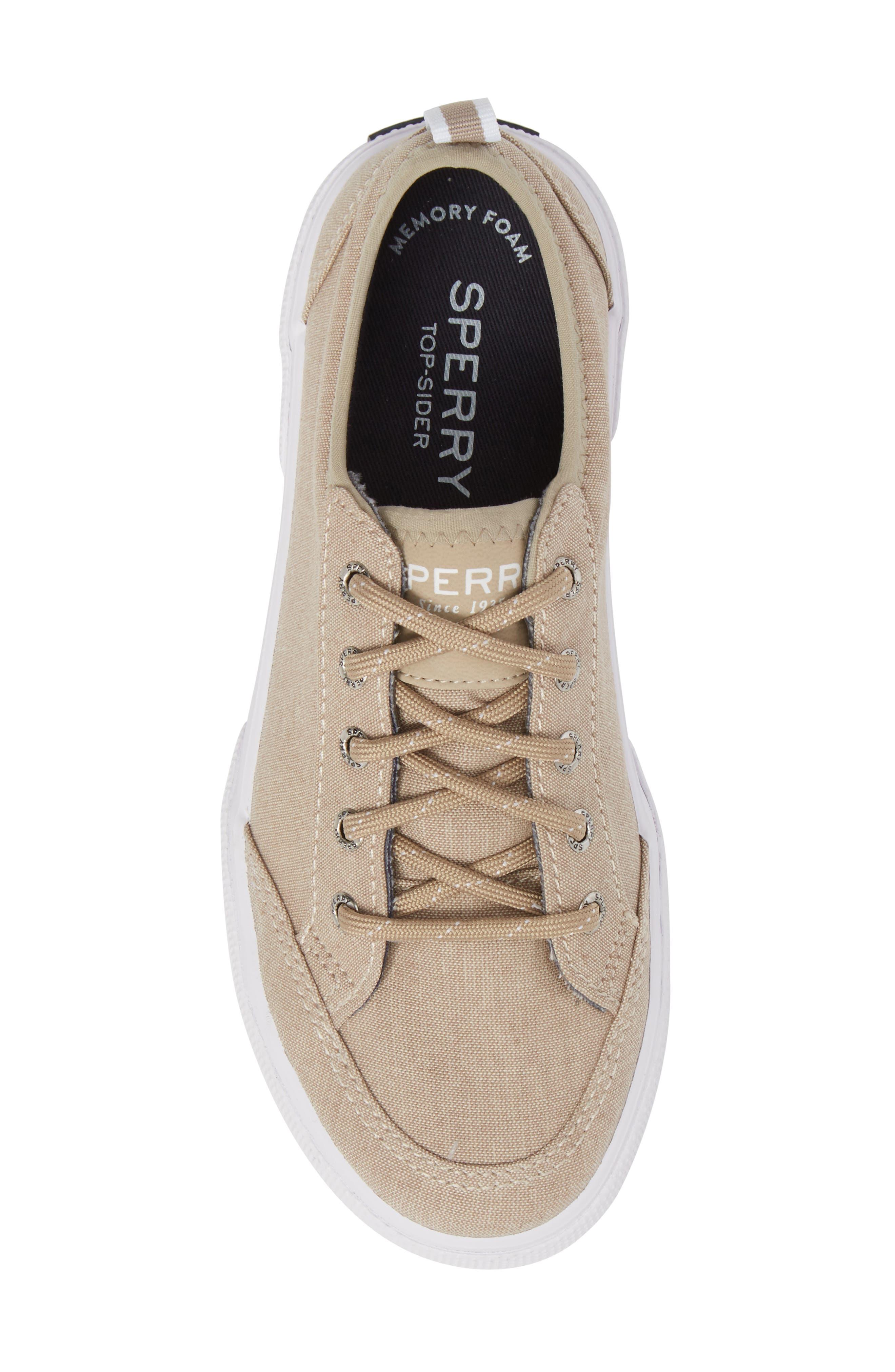 Deckfin Sneaker,                             Alternate thumbnail 5, color,                             Khaki