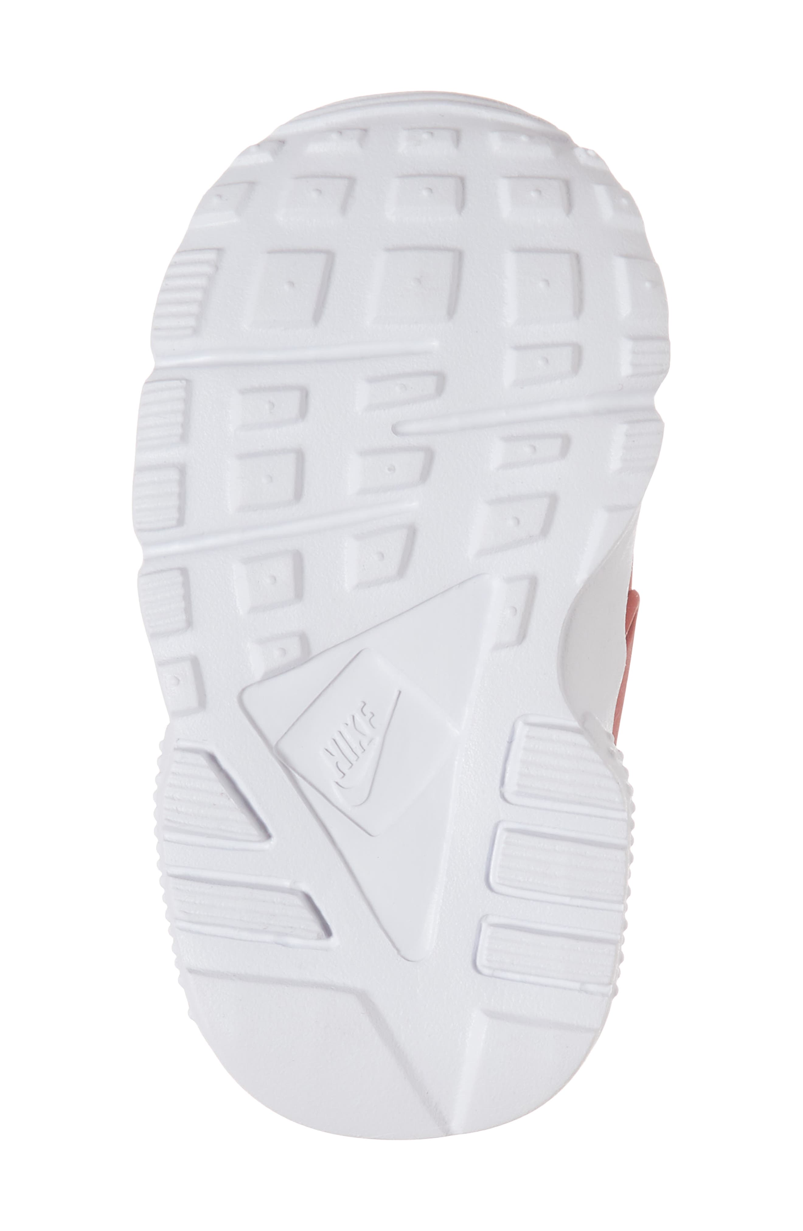'Huarache Run' Sneaker,                             Alternate thumbnail 6, color,                             Gym Red/ Dark Grey/ White