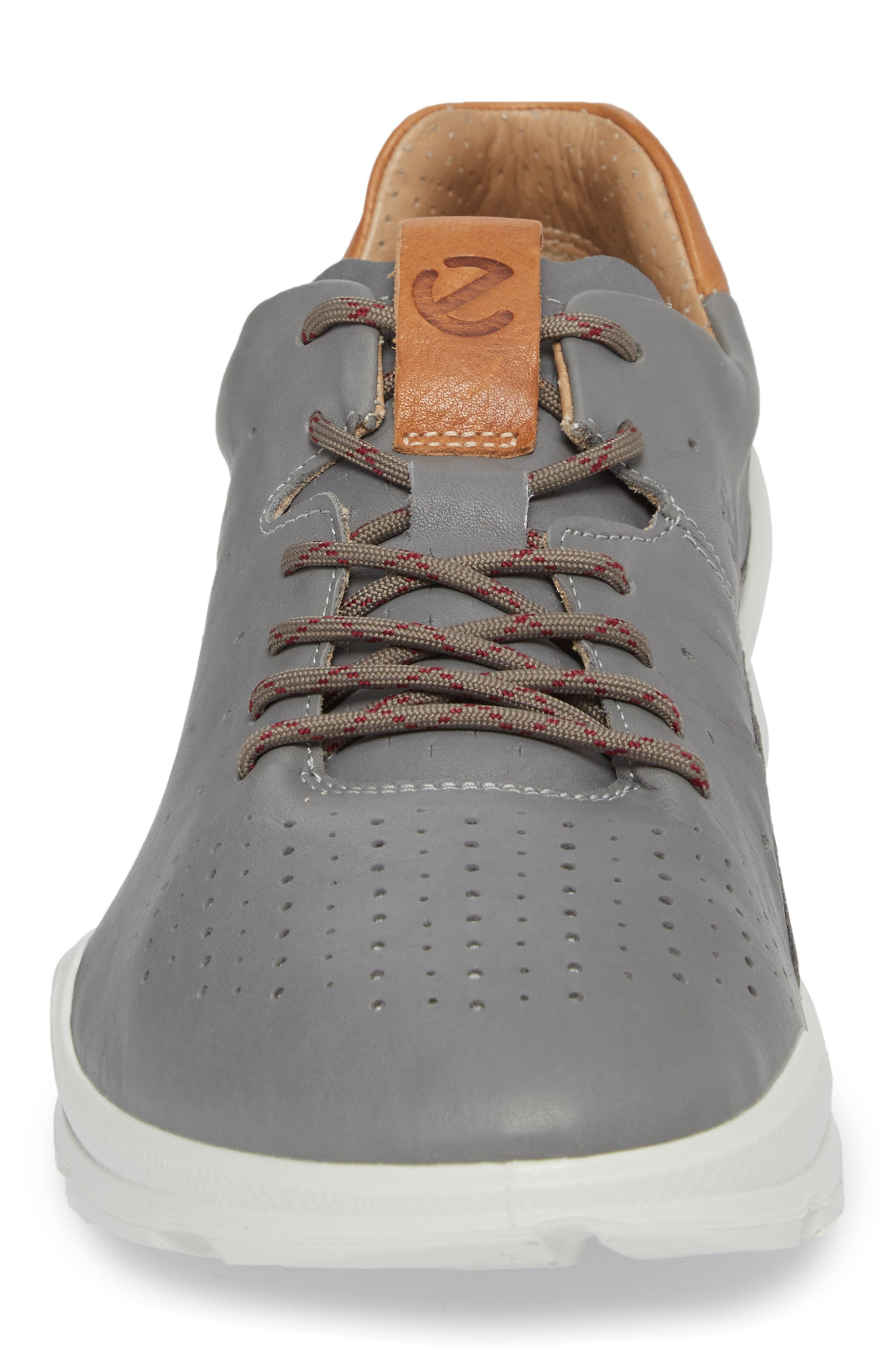 Biom Street Sneaker,                             Alternate thumbnail 4, color,                             Wild Dove Leather