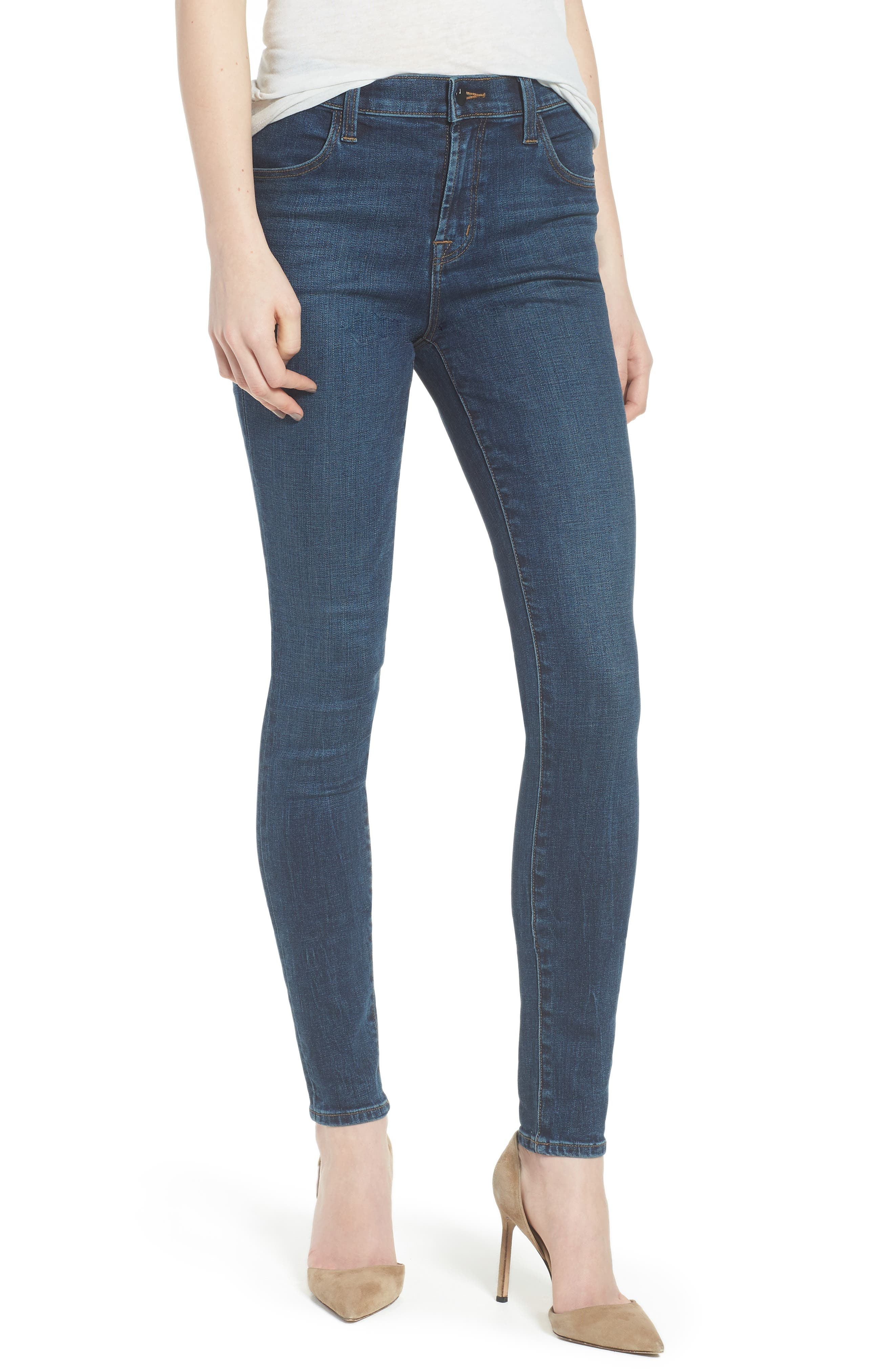 Maria High Waist Skinny Jeans,                         Main,                         color, Revival