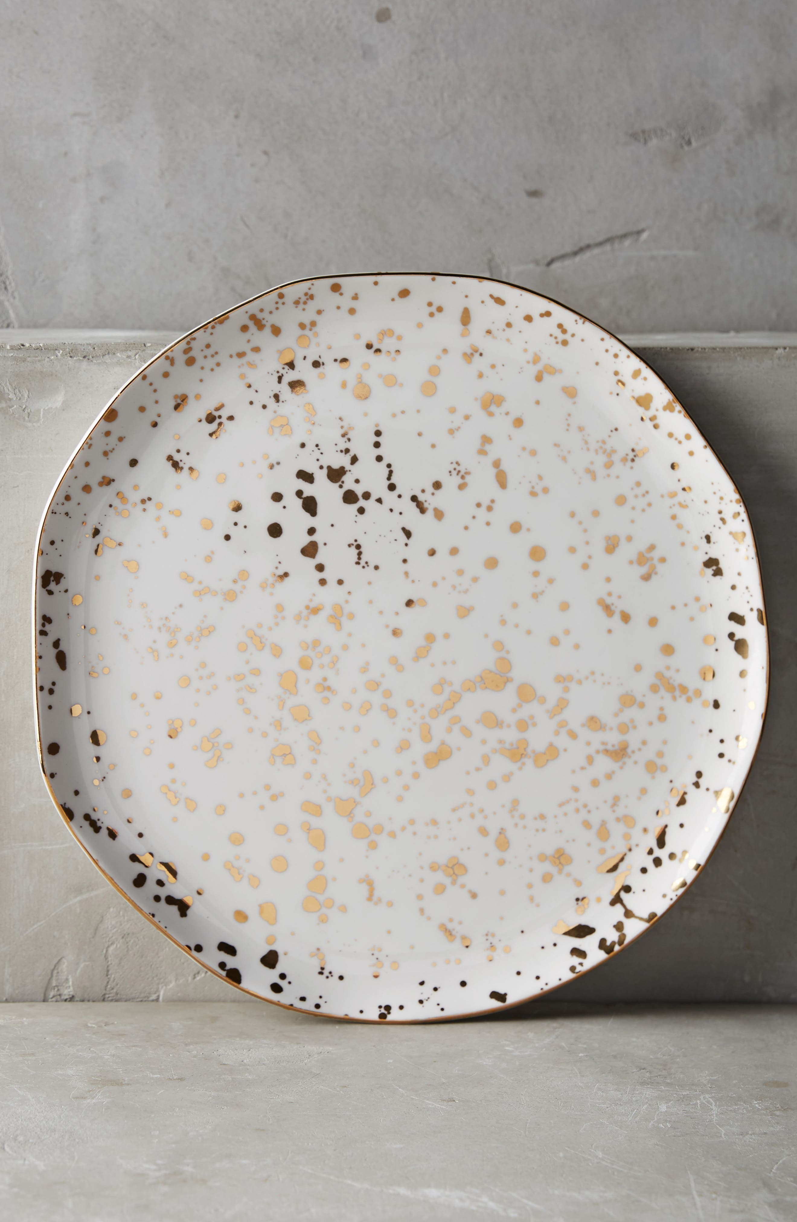 Anthropologie Mimira Stoneware Dinner Plate