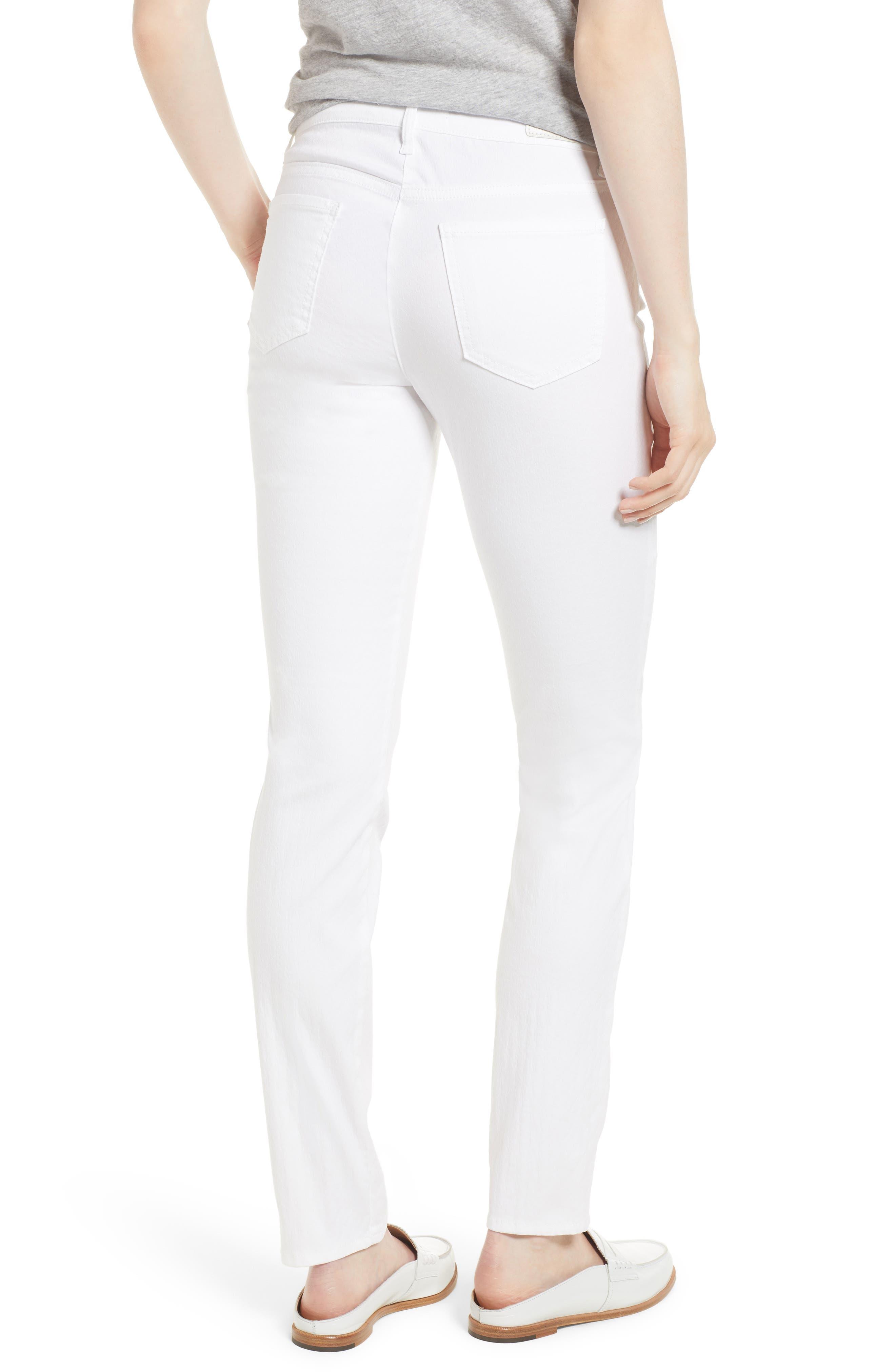 Shakira White Jeans,                             Alternate thumbnail 2, color,                             White