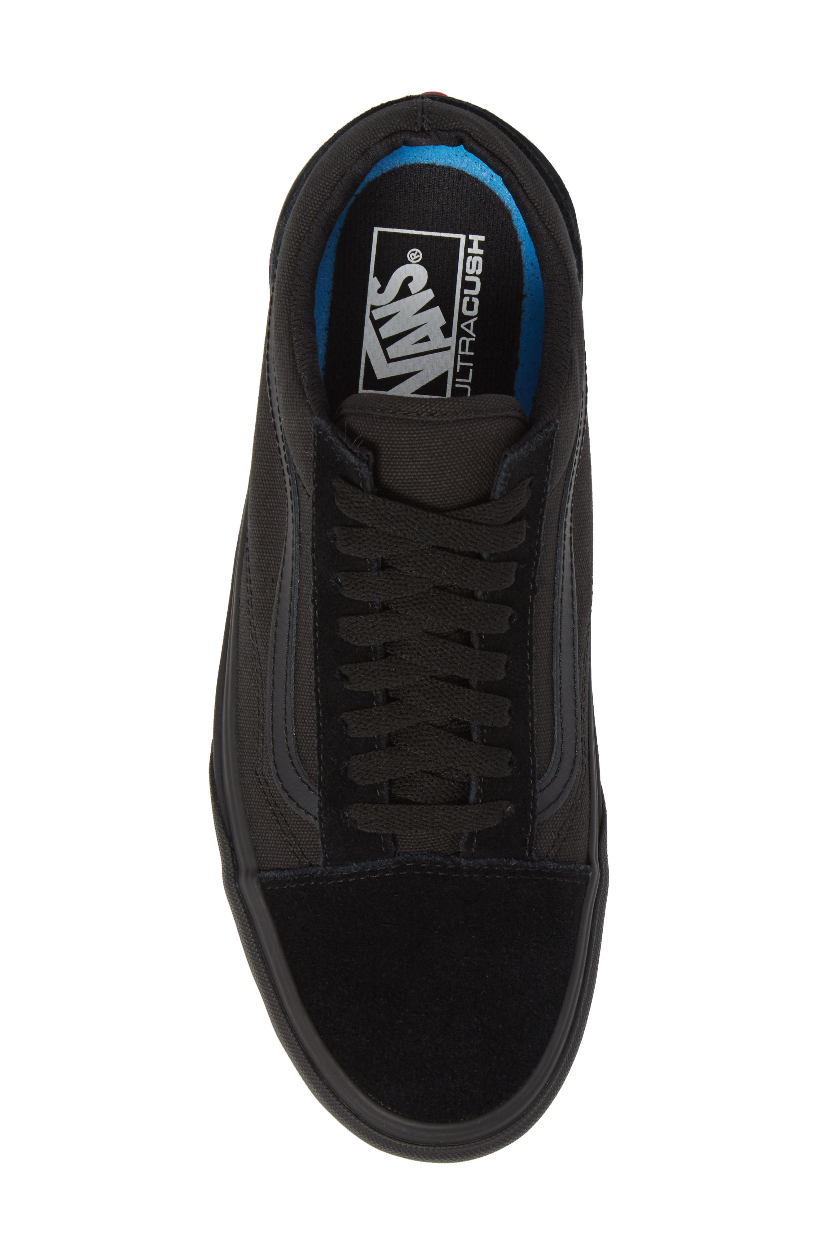 Made for the Makers Old Skool UC Sneaker,                             Alternate thumbnail 5, color,                             Black/ Black Leather